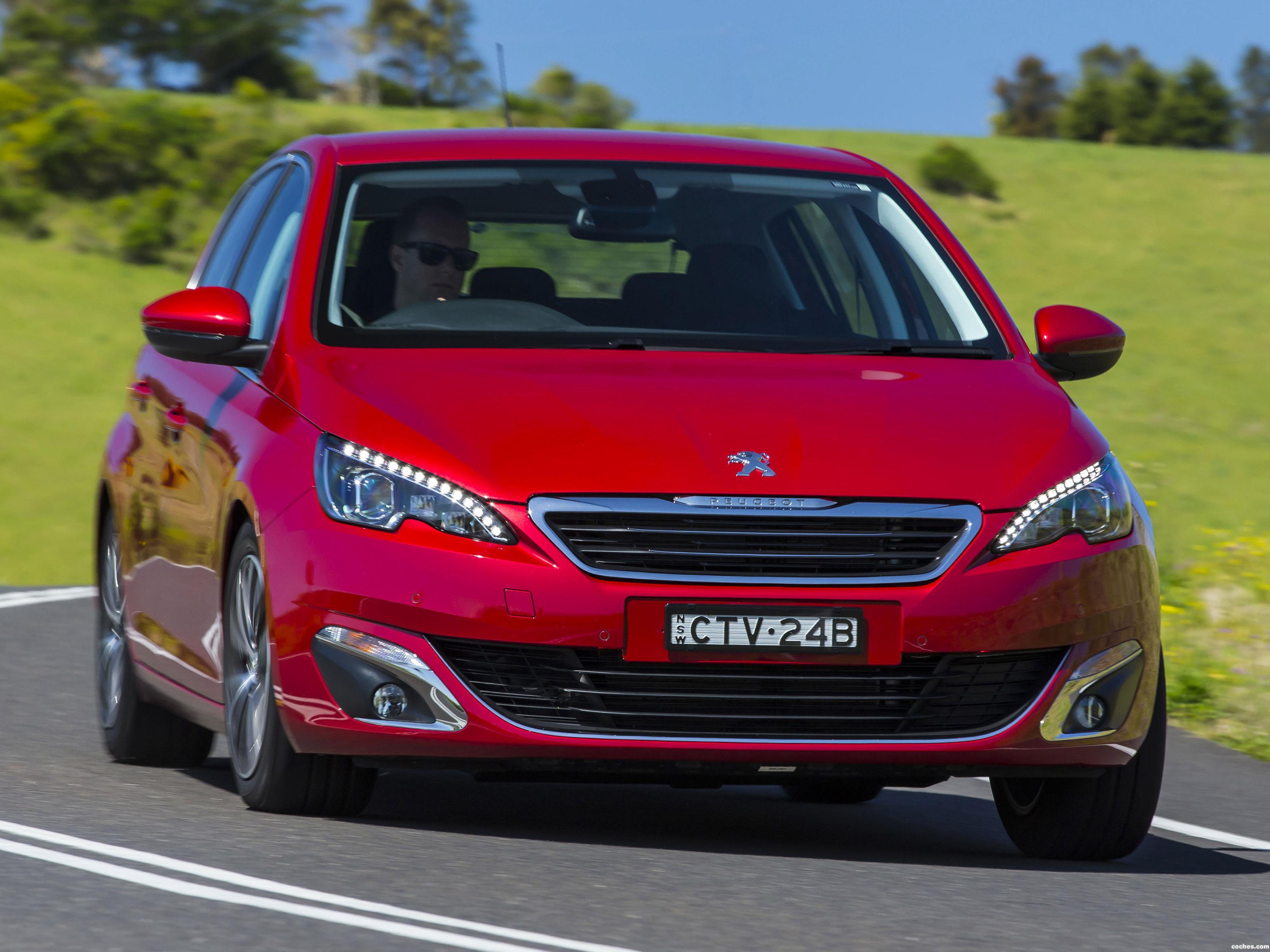 Foto 0 de Peugeot 308 Australia 2014