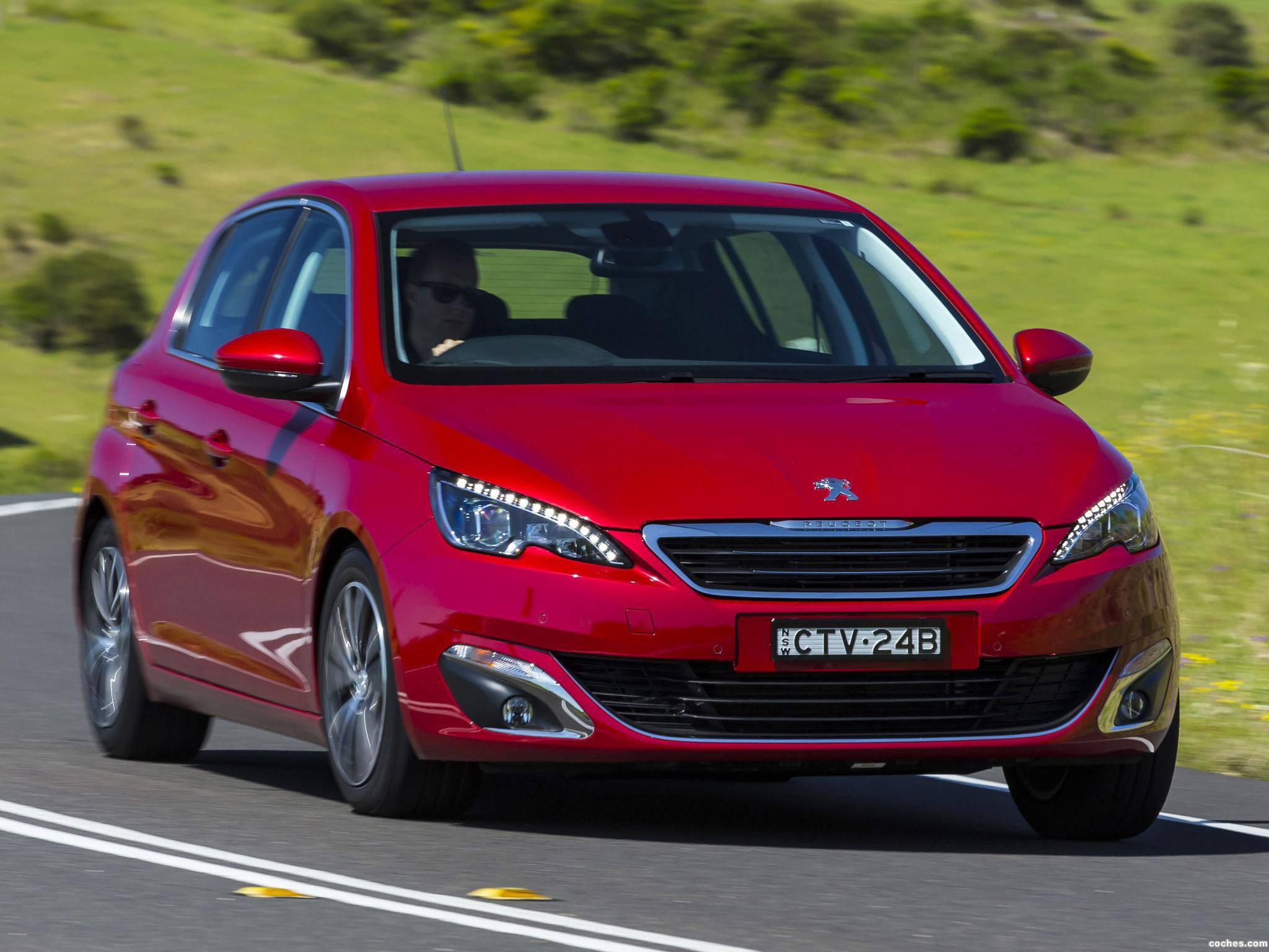 Foto 4 de Peugeot 308 Australia 2014