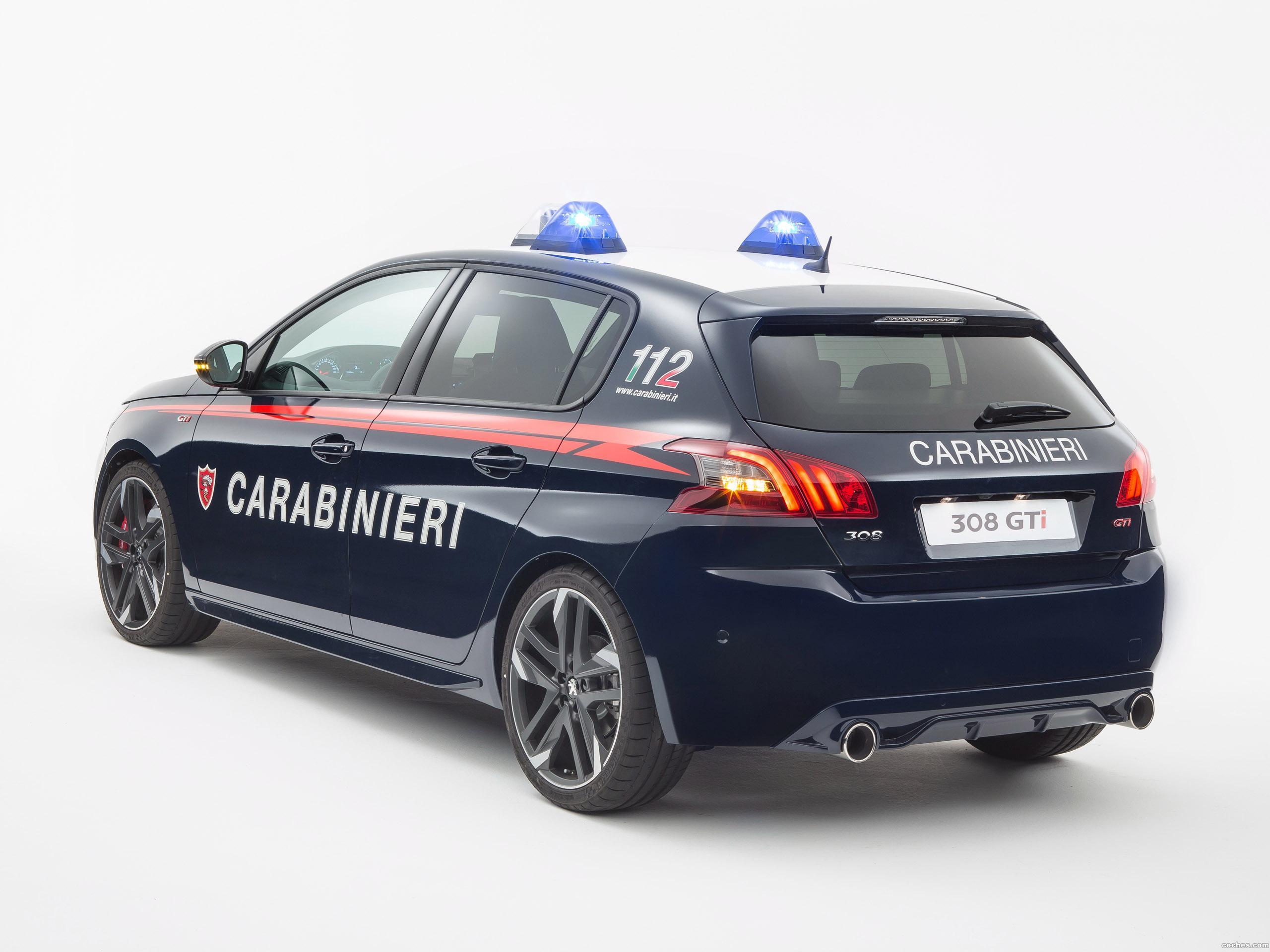 Foto 1 de Peugeot 308 GTI Carabinieri  2017