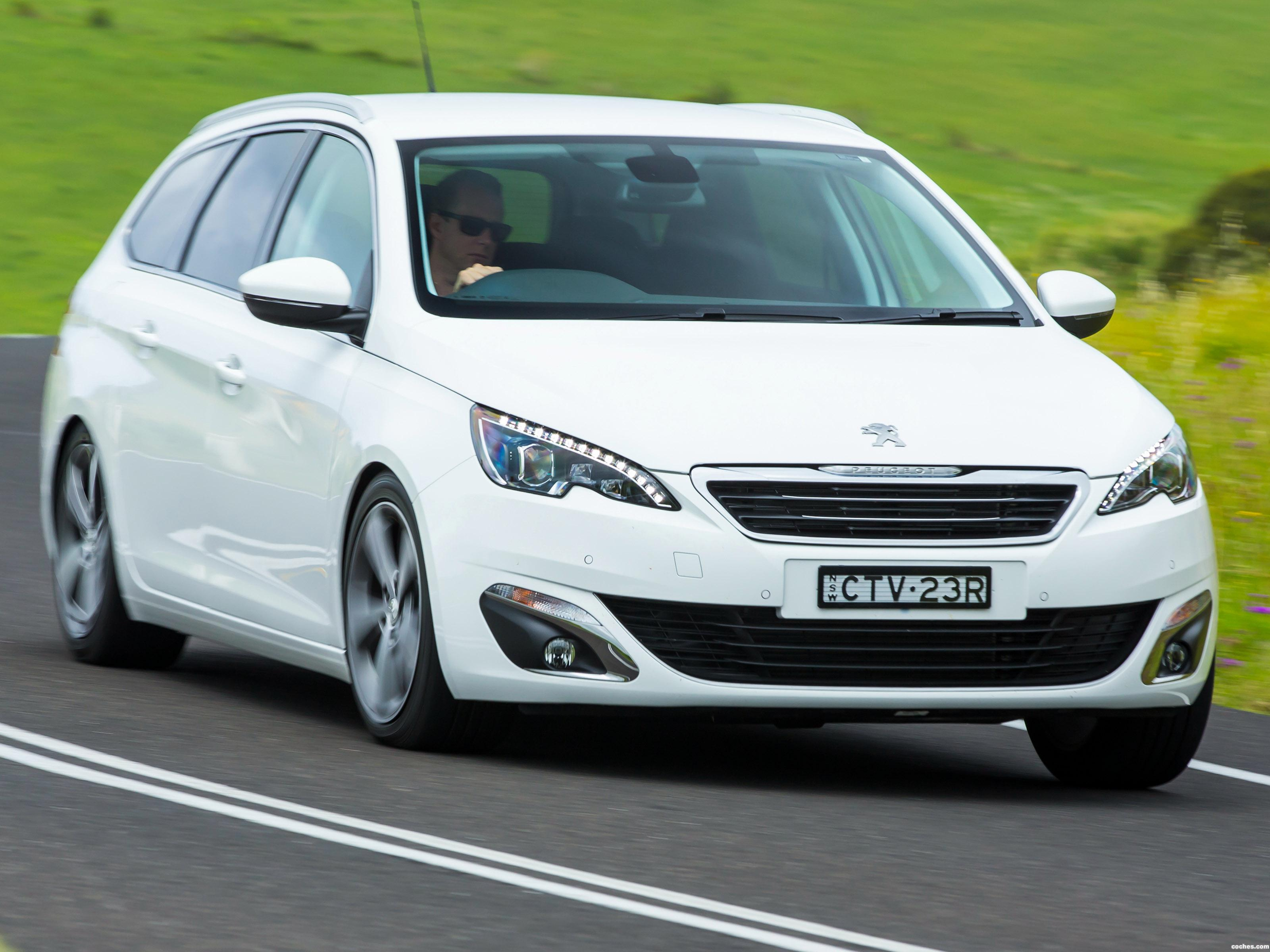 Foto 0 de Peugeot 308 Touring Australia 2014