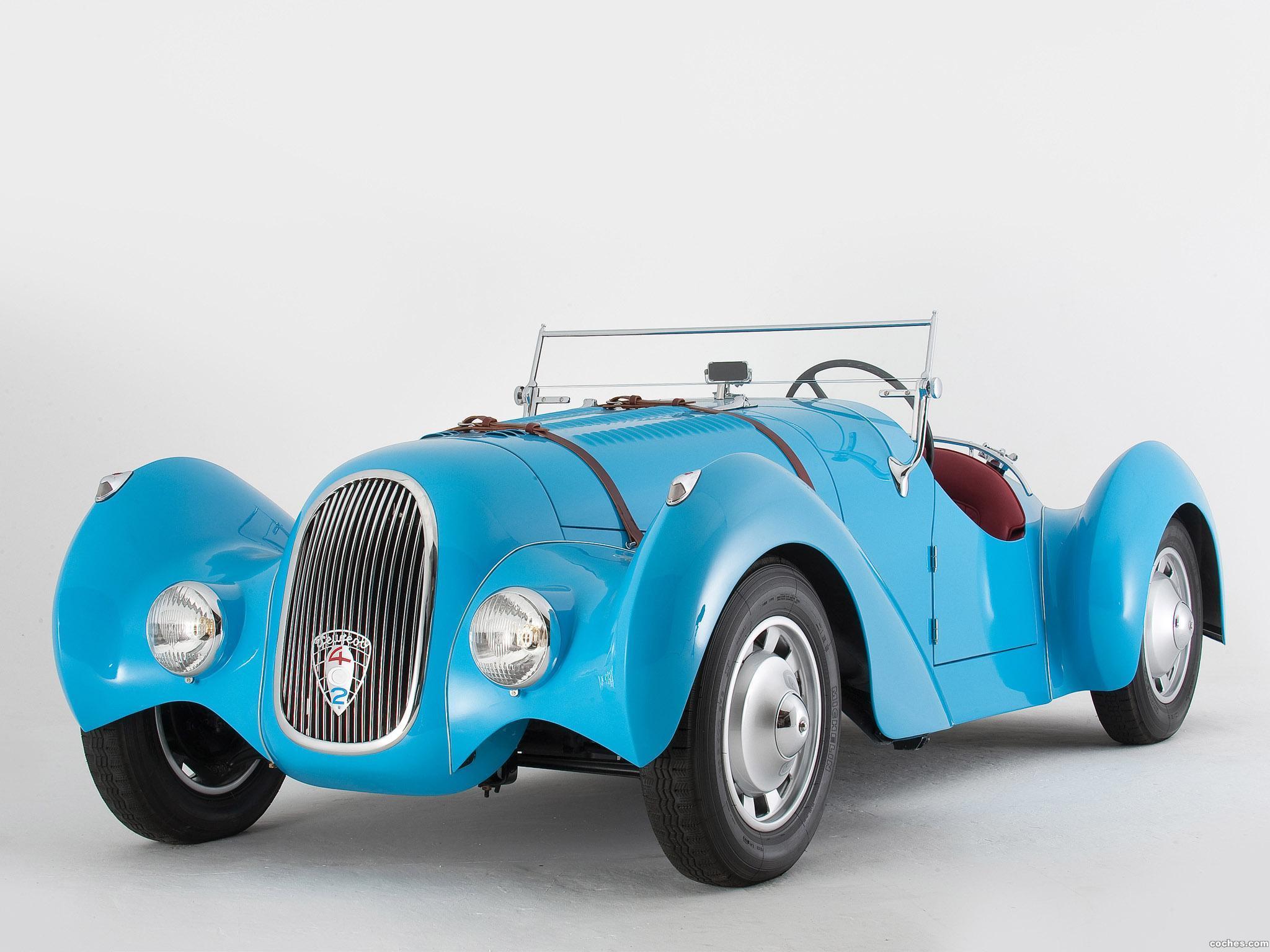 Foto 0 de Peugeot Special Pourtout Roadster 1938