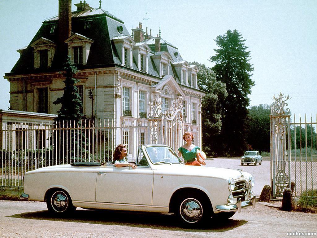 Foto 0 de Peugeot 403 Cabrio 1955