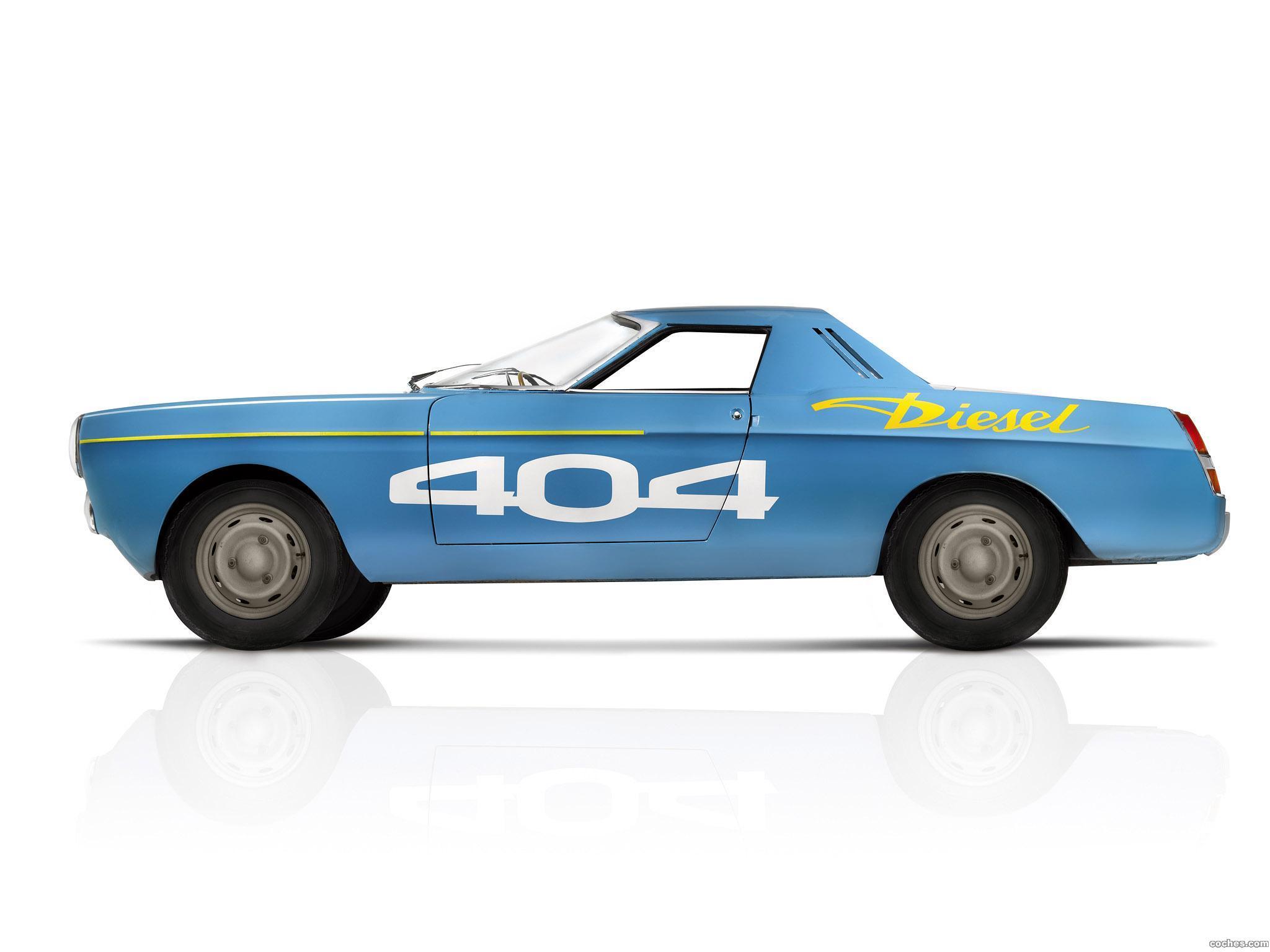 Foto 1 de Peugeot Diesel Record Car 1965