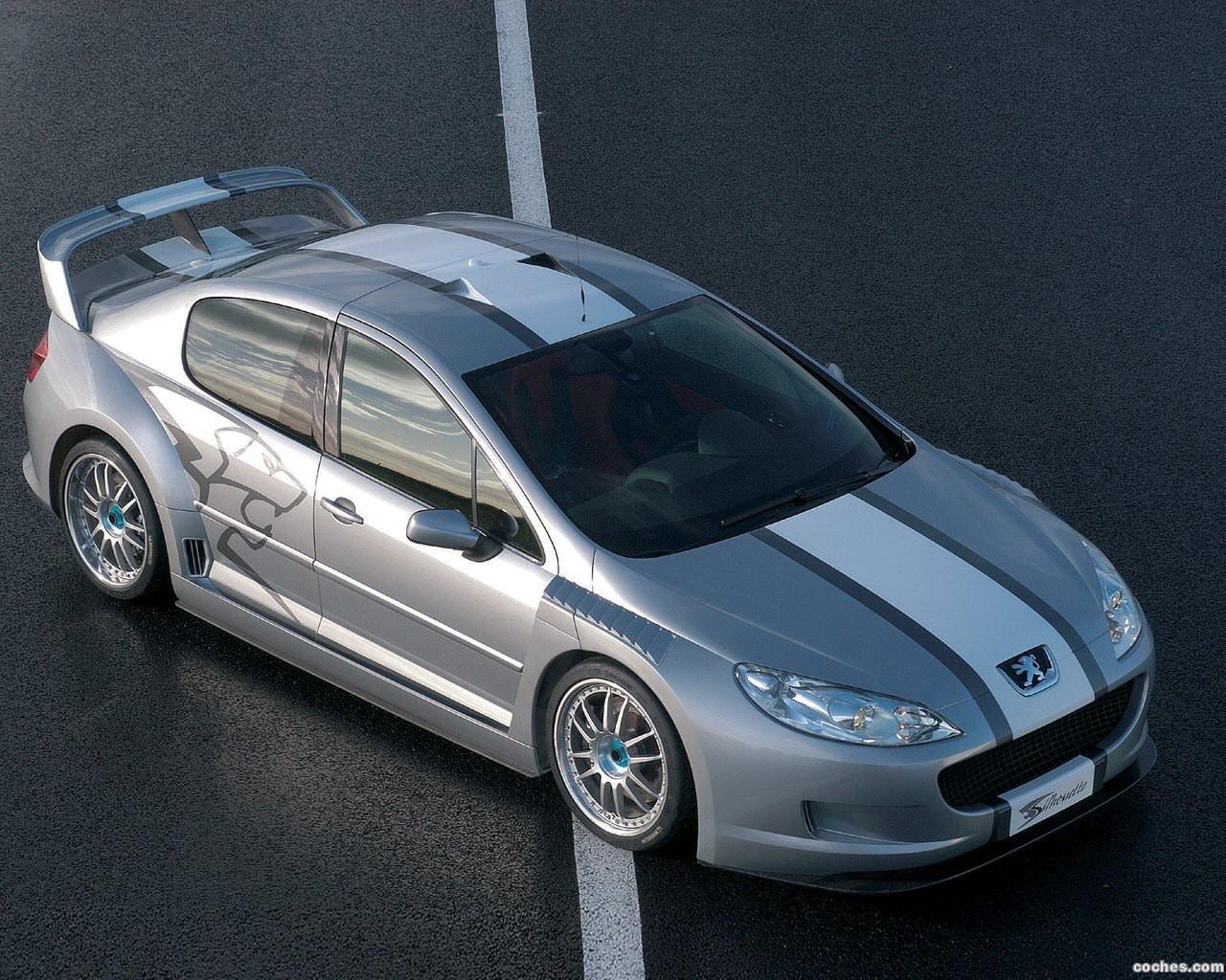 Foto 0 de Peugeot 407 Silhouette Concept 2004