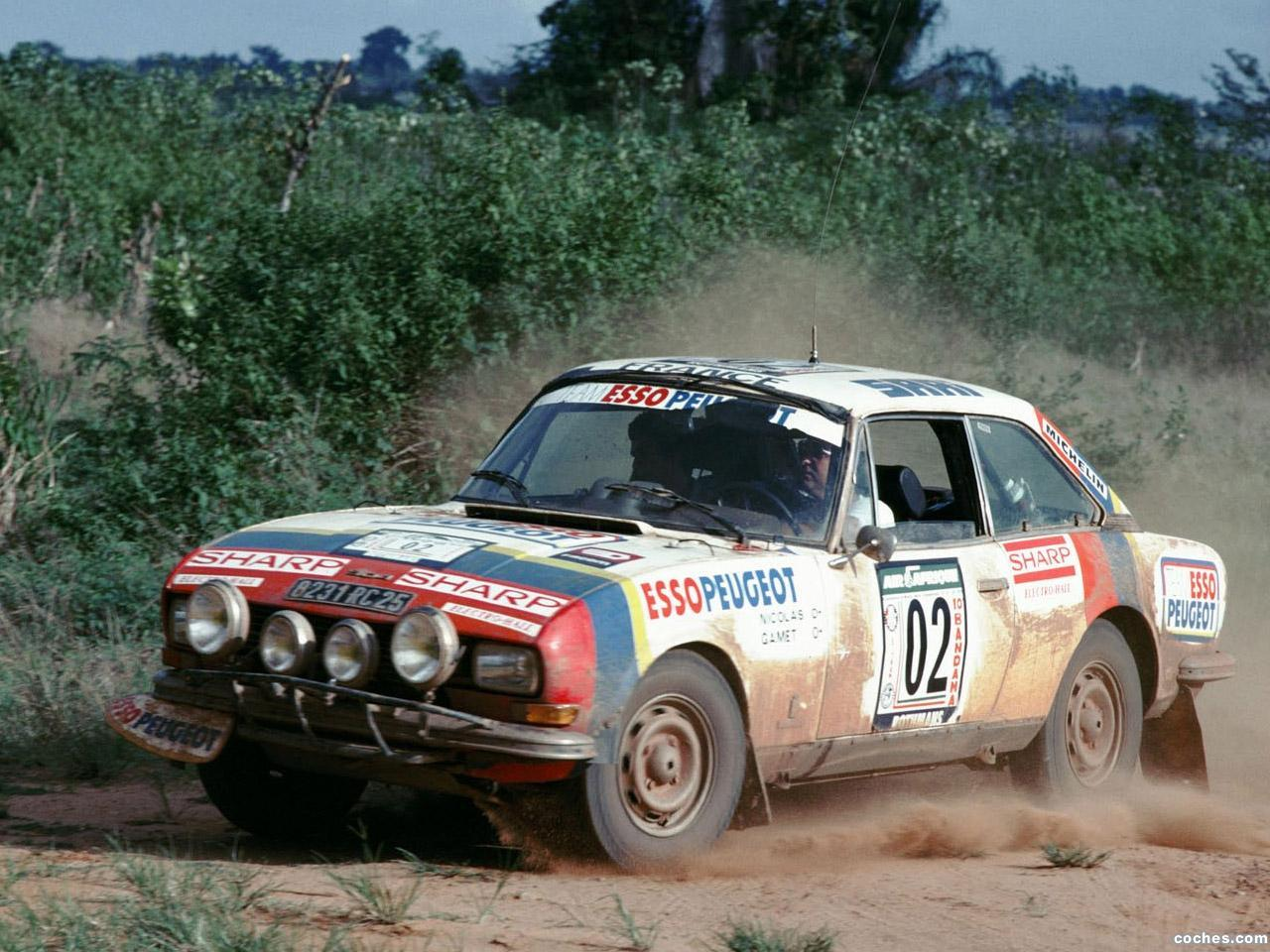 Foto 0 de Peugeot 504 V6 Coupe Rally Car 1976