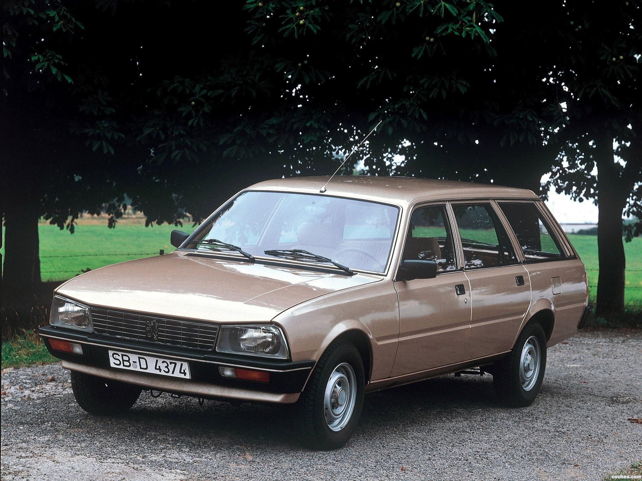 Foto 0 de Peugeot 505 Break 1982