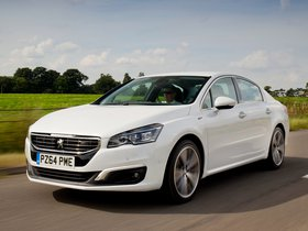 Fotos de Peugeot 508 GT UK 2014