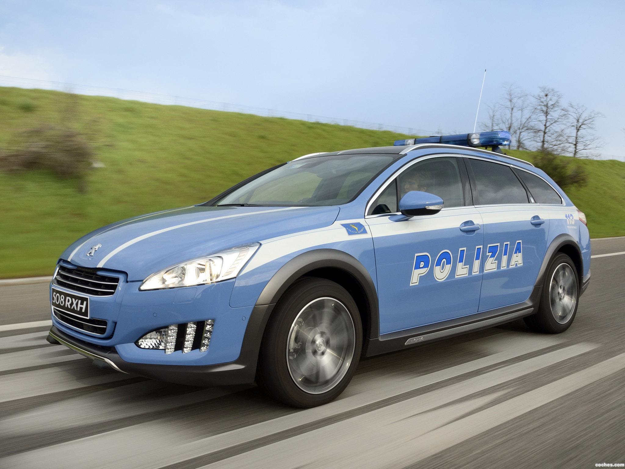 Foto 0 de Peugeot 508 RXH Police Car 2014