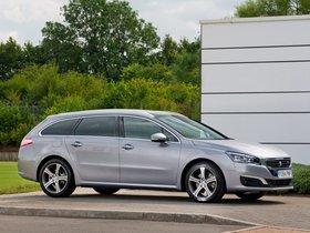 Ver foto 2 de Peugeot 508 SW UK 2014