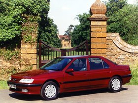 Ver foto 6 de Peugeot 605 UK 1989