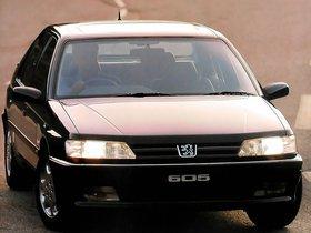 Ver foto 3 de Peugeot 605 UK 1989