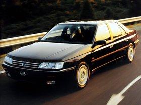 Ver foto 2 de Peugeot 605 UK 1989