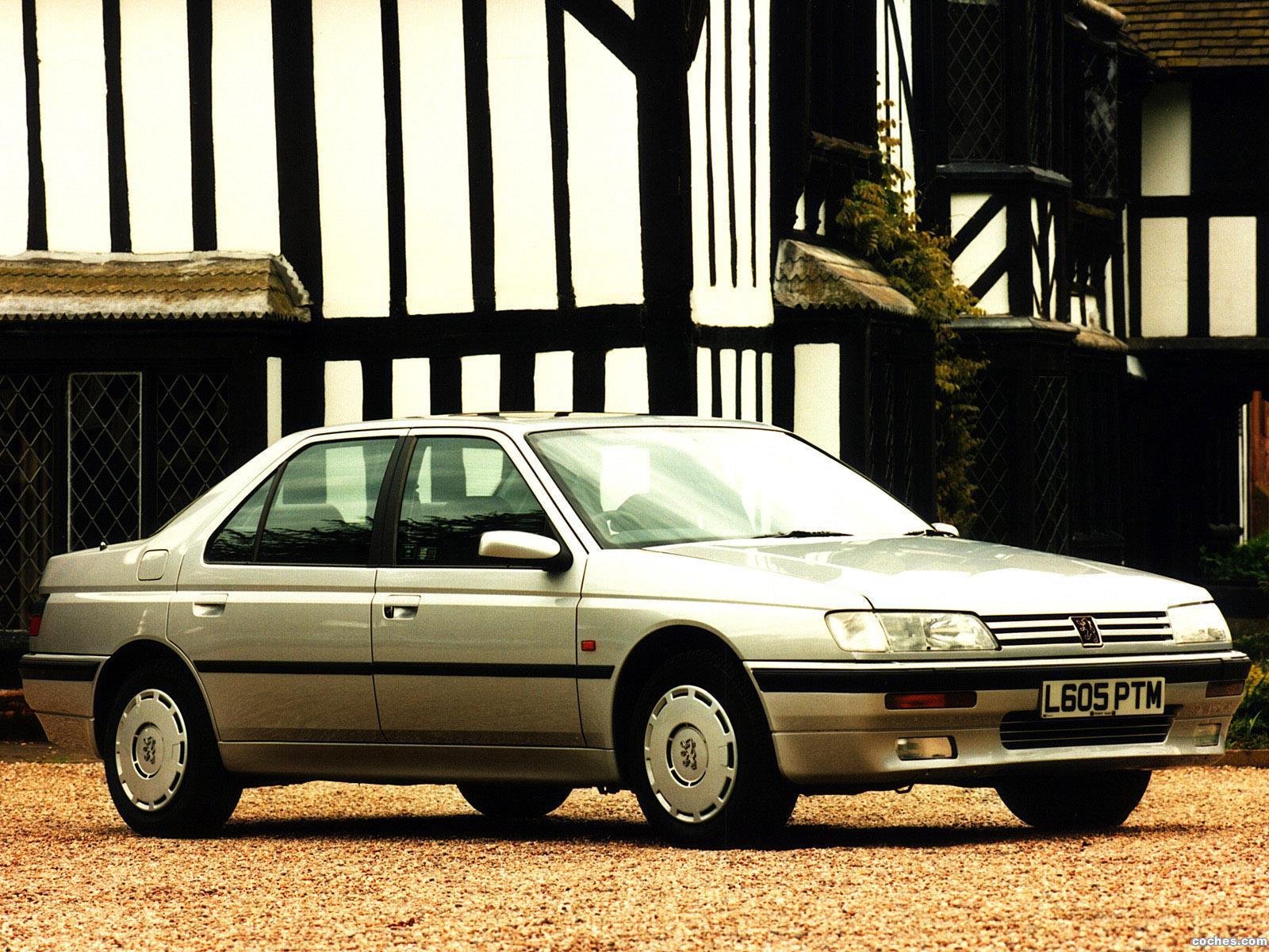 Foto 0 de Peugeot 605 UK 1989