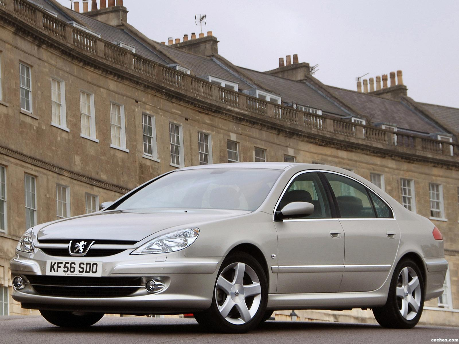 Foto 0 de Peugeot 607 UK 2004