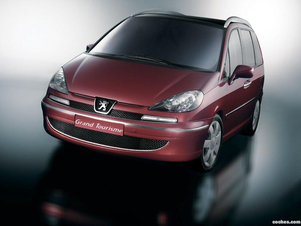 Foto 0 de Peugeot 807 Grand Tourisme Concept 2003