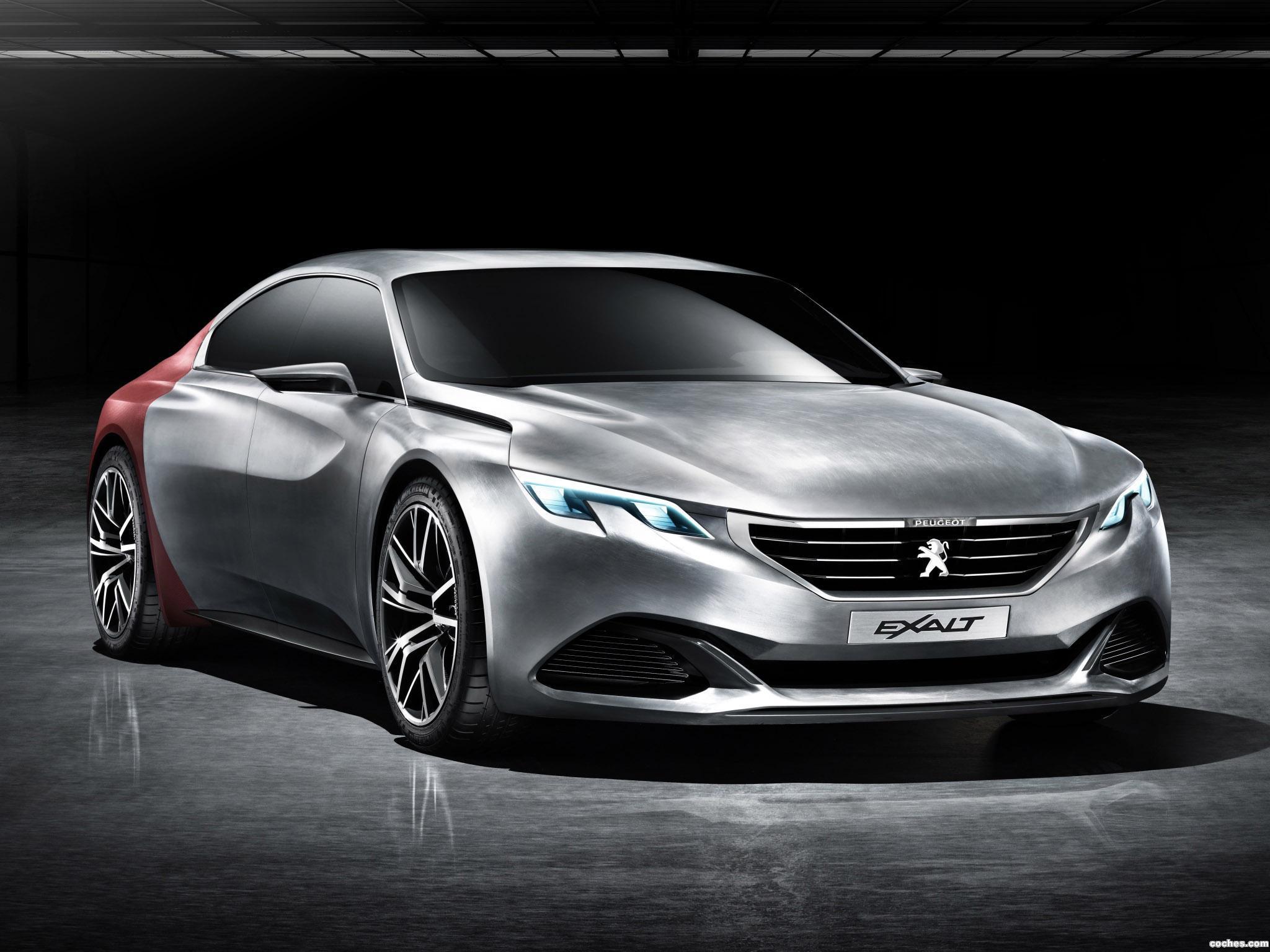 Foto 0 de Peugeot Exalt Concept 2014