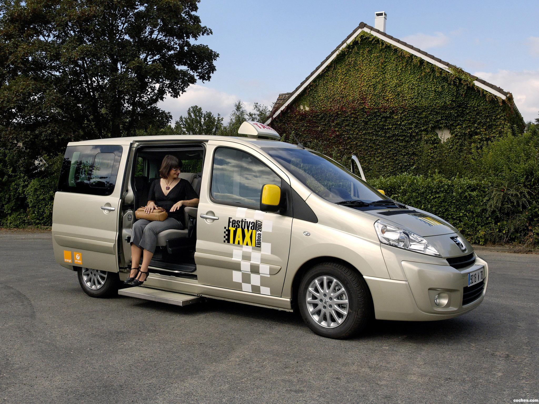 fotos de peugeot expert tepee taxi 2007 foto 1. Black Bedroom Furniture Sets. Home Design Ideas