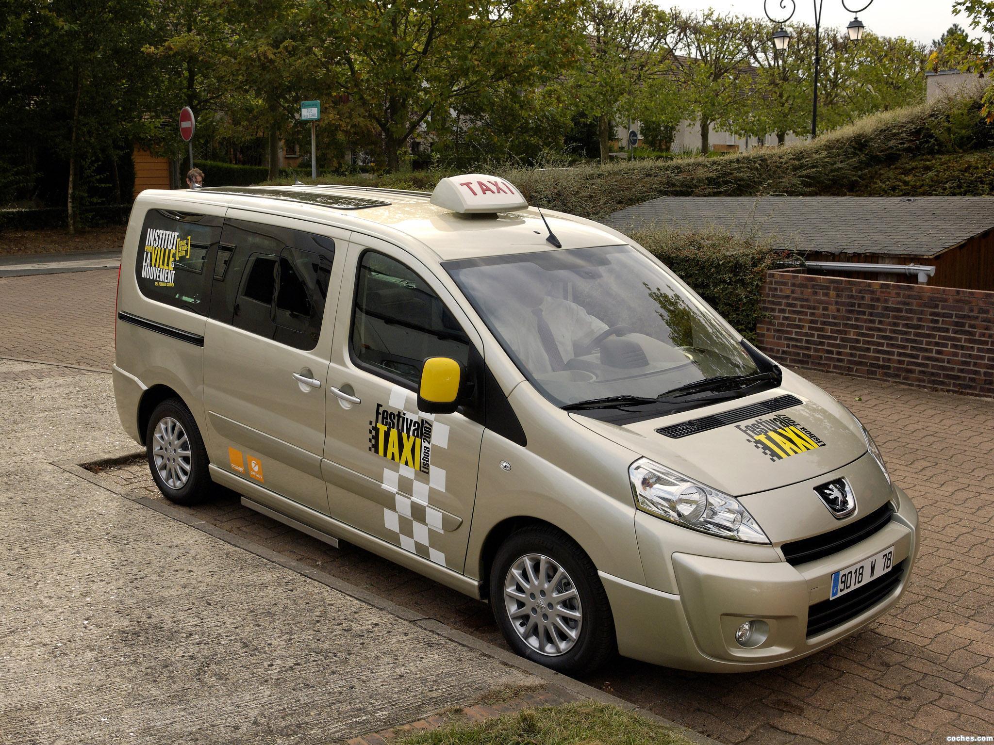 fotos de peugeot expert tepee taxi 2007. Black Bedroom Furniture Sets. Home Design Ideas