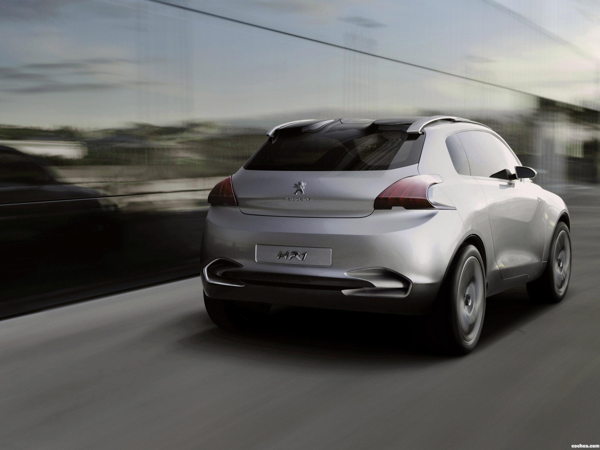 Foto 5 de Peugeot HR1 Concept 2010