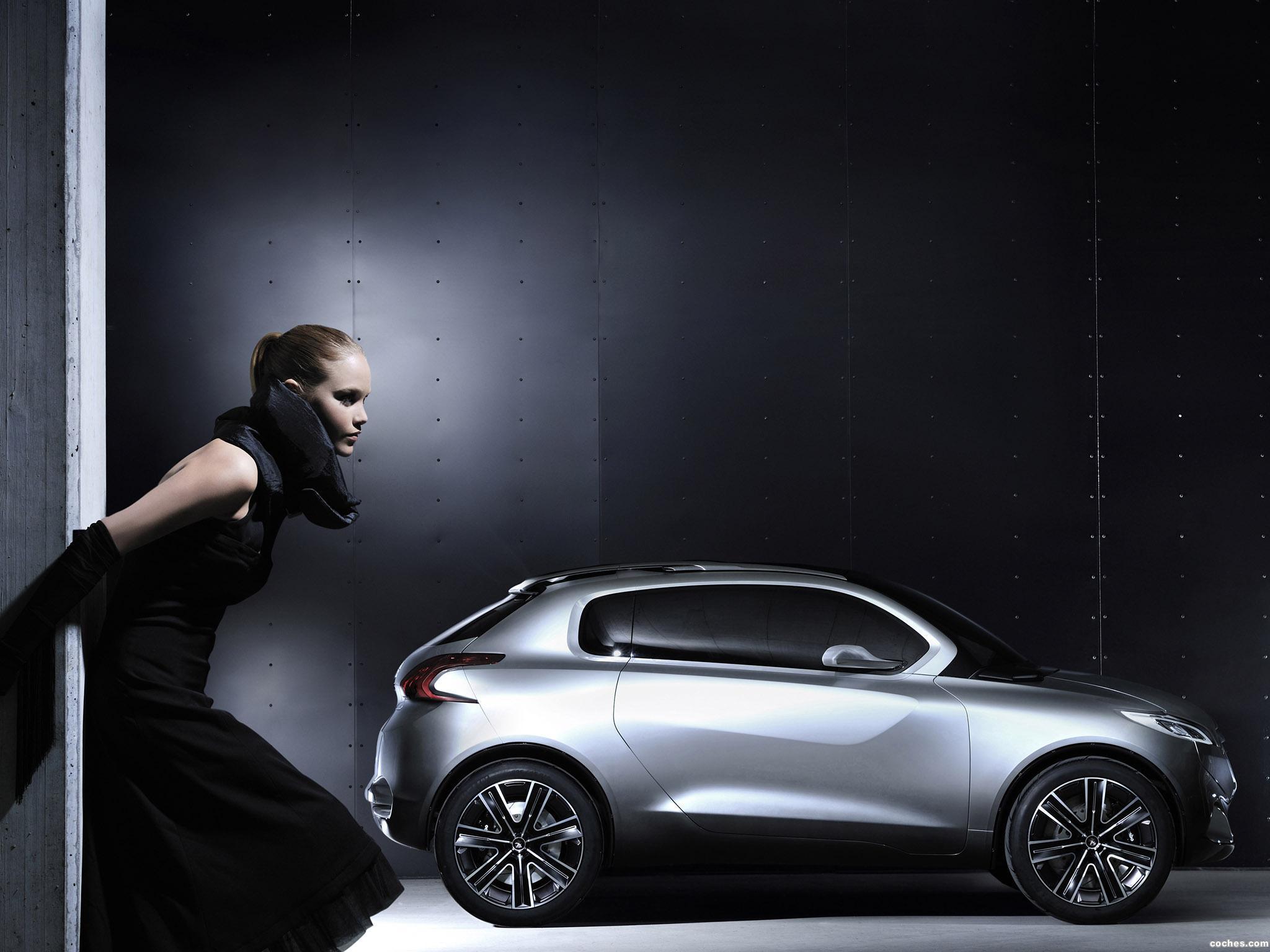 Foto 3 de Peugeot HR1 Concept 2010