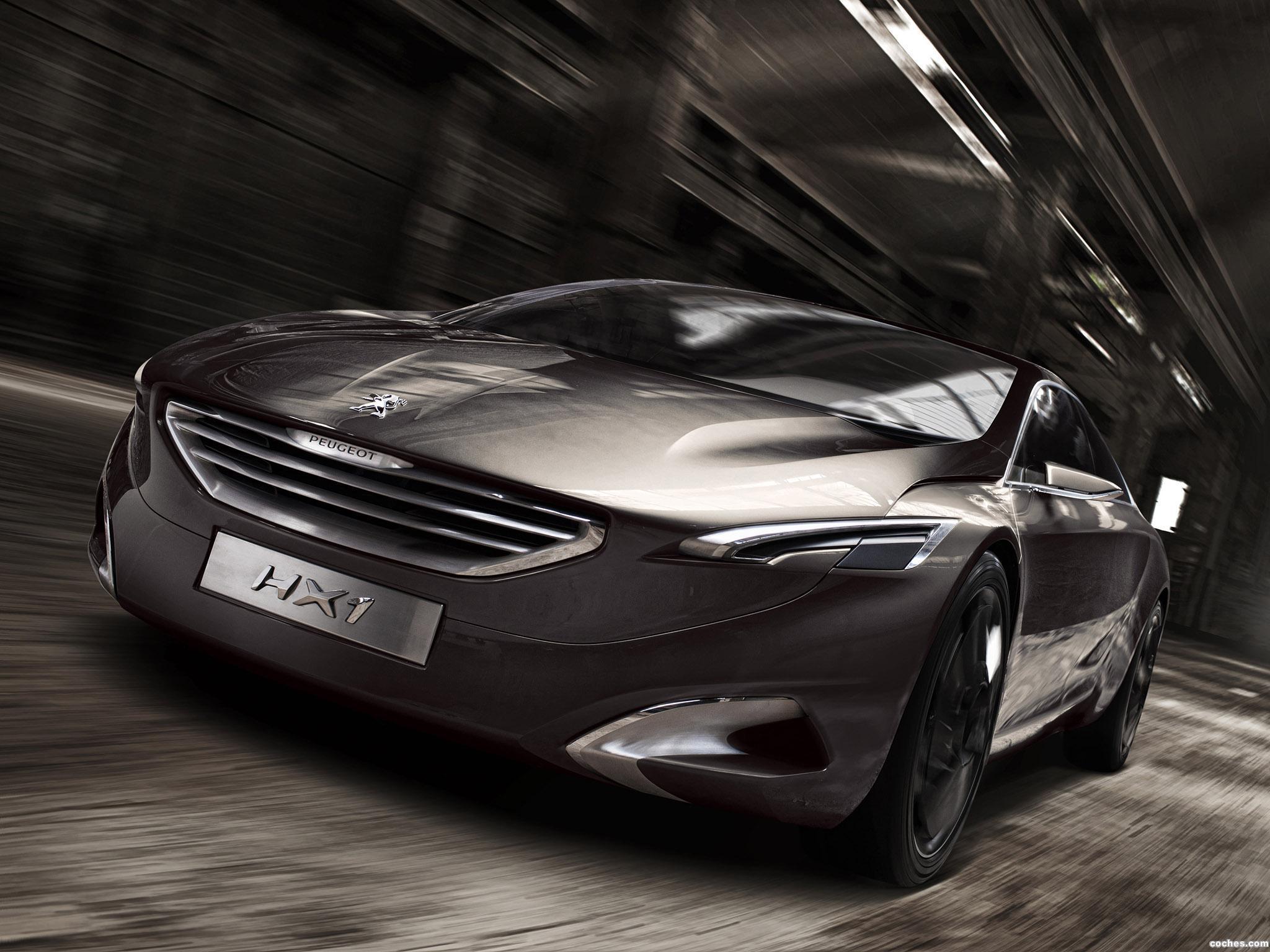 Foto 0 de Peugeot HX1 Concept 2011