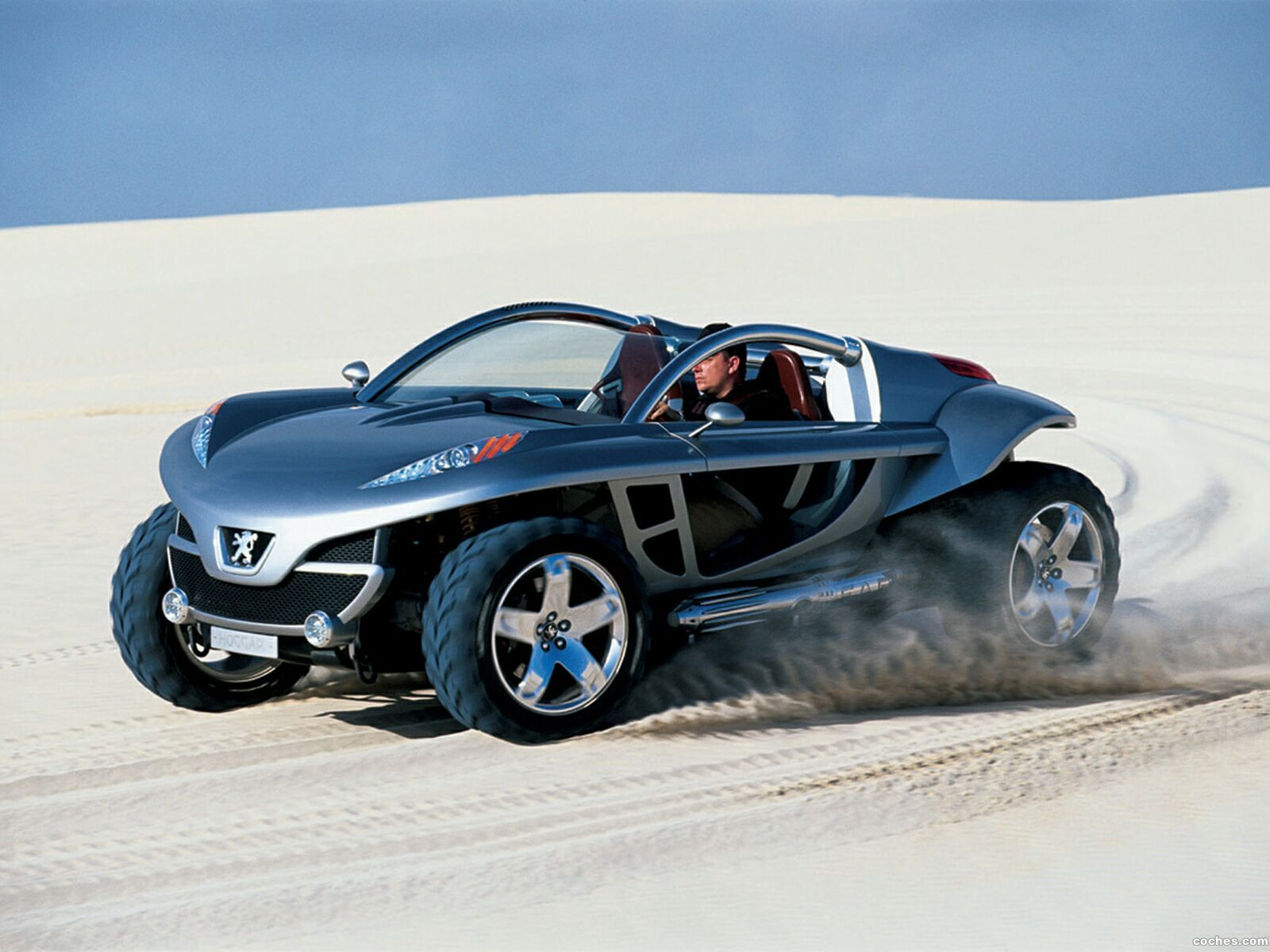 Foto 0 de Peugeot Hoggar Concept 2003