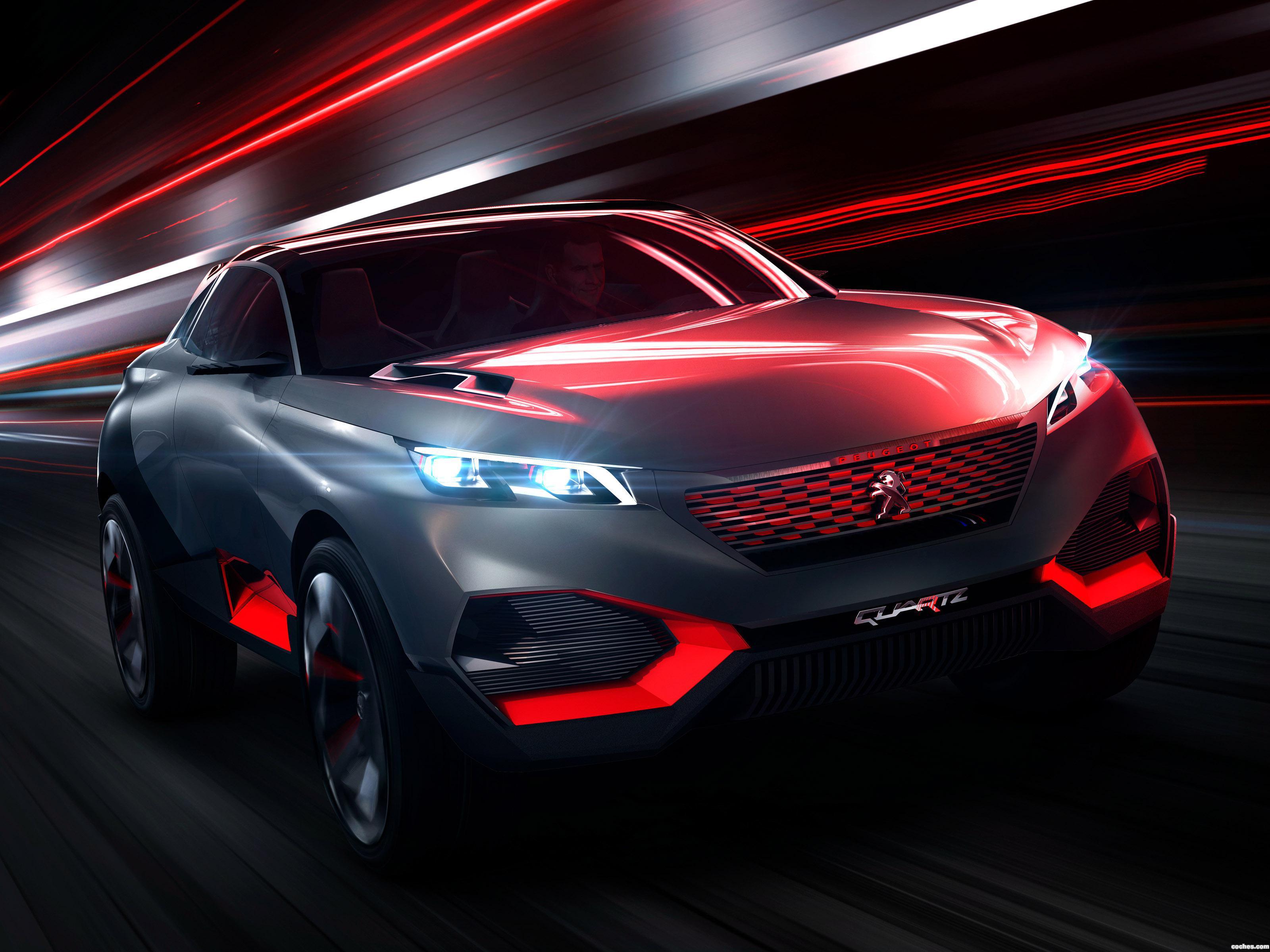 Foto 0 de Peugeot Quartz Concept 2014
