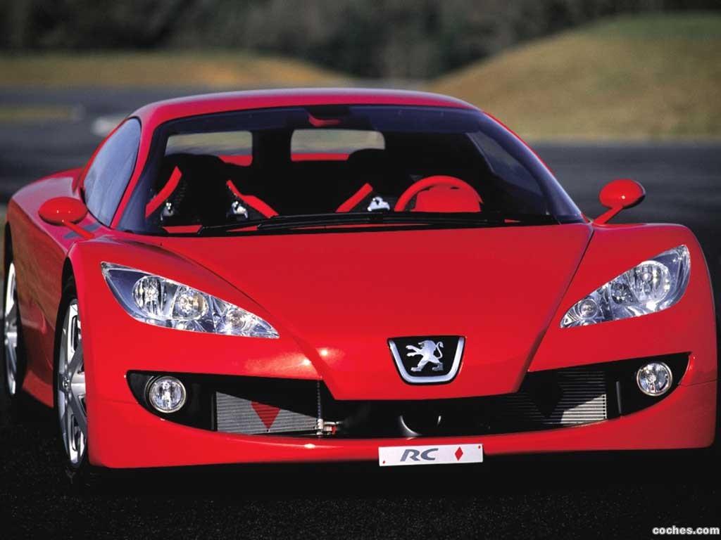 Foto 0 de Peugeot RC Concept 2000