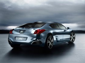 Ver foto 5 de Peugeot RC Hybrid4 Concept 2008