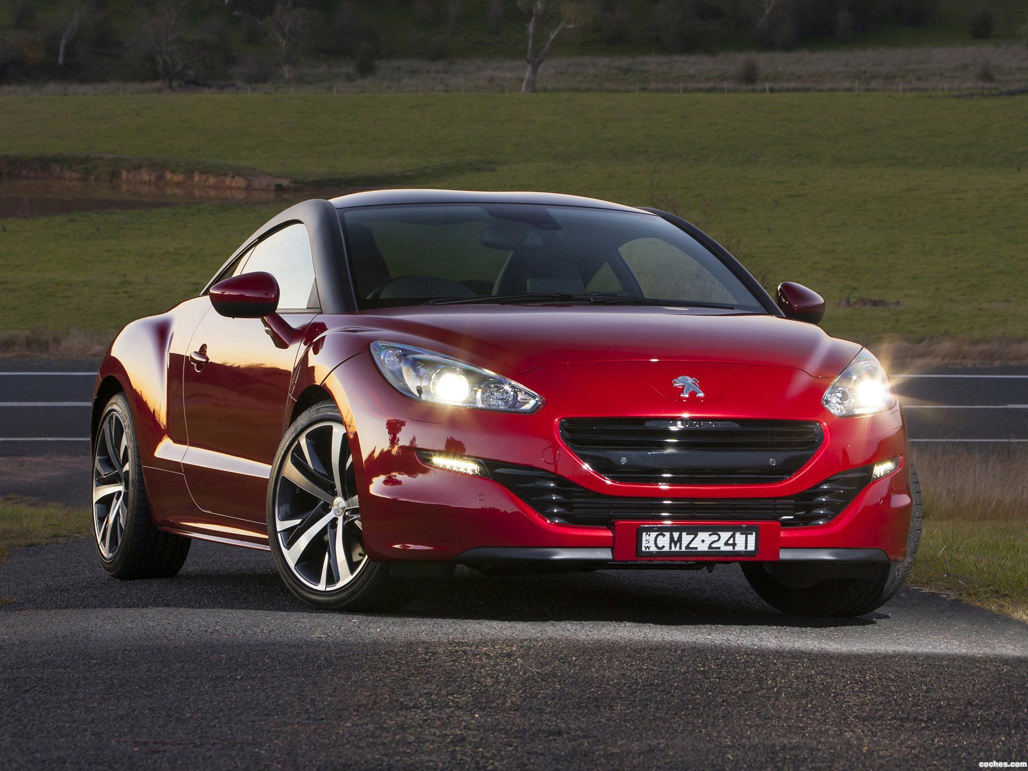 Foto 0 de Peugeot RCZ Australia 2013