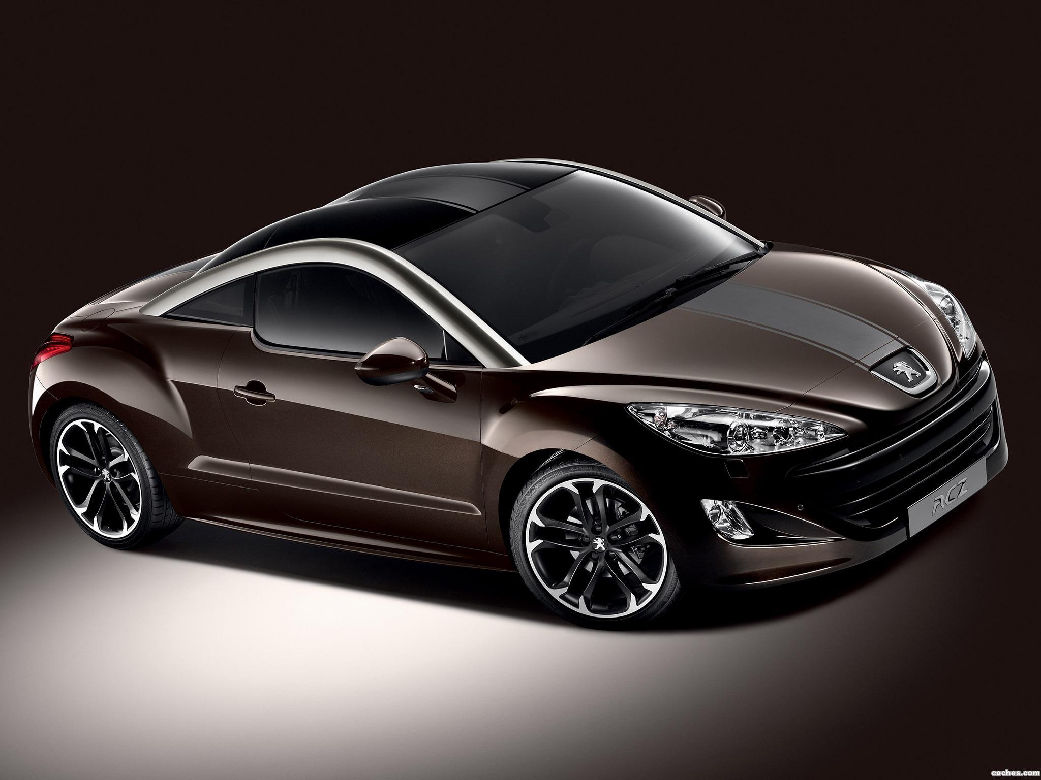 Foto 0 de Peugeot RCZ Brownstone 2012