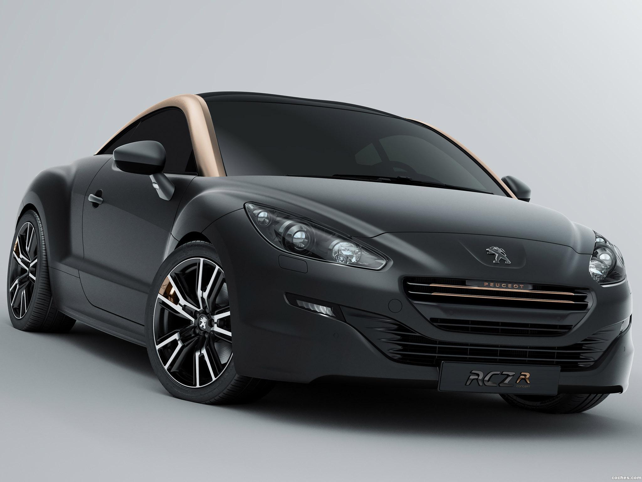 Foto 0 de Peugeot RCZ-R Concept 2012