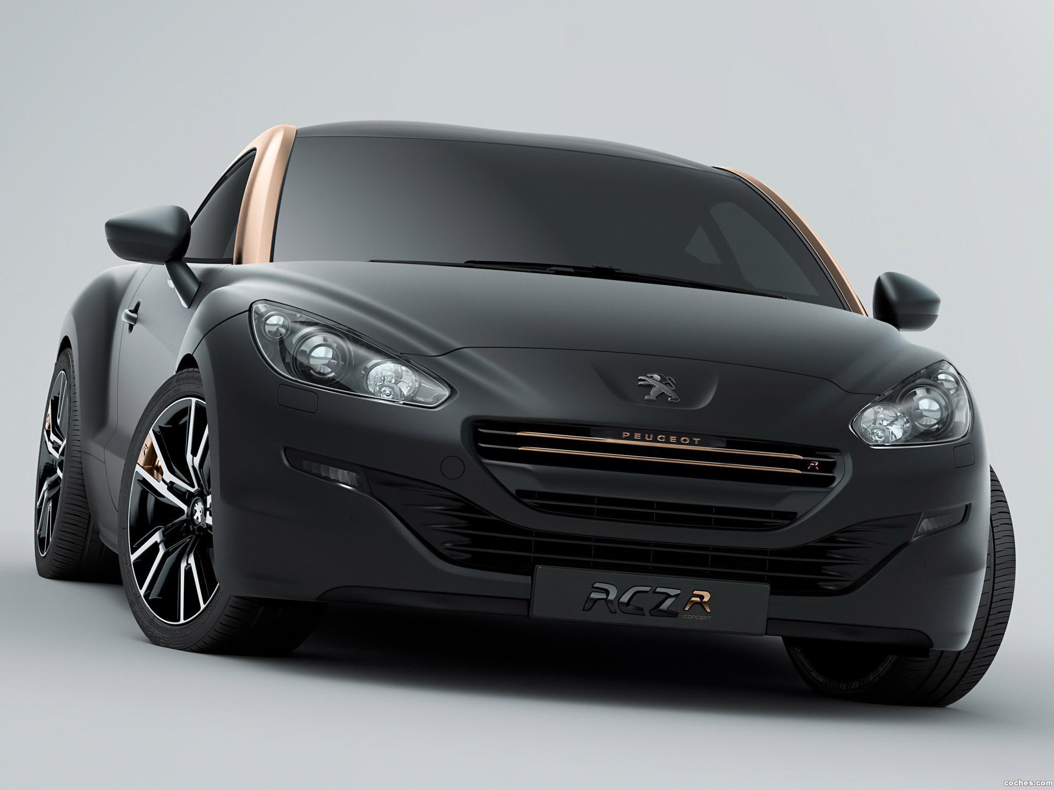 Foto 1 de Peugeot RCZ-R Concept 2012