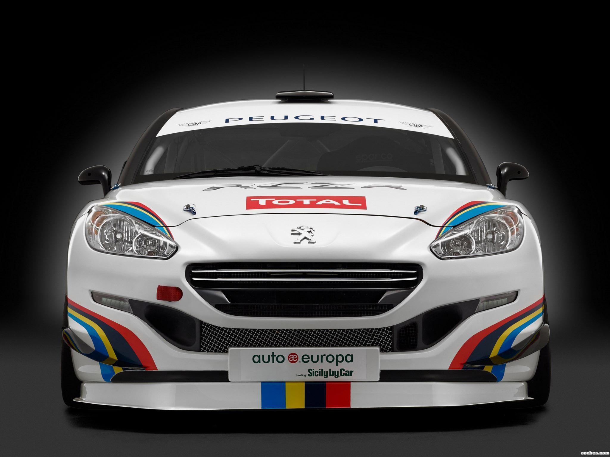 Foto 0 de Peugeot RCZ-R Racing 2014