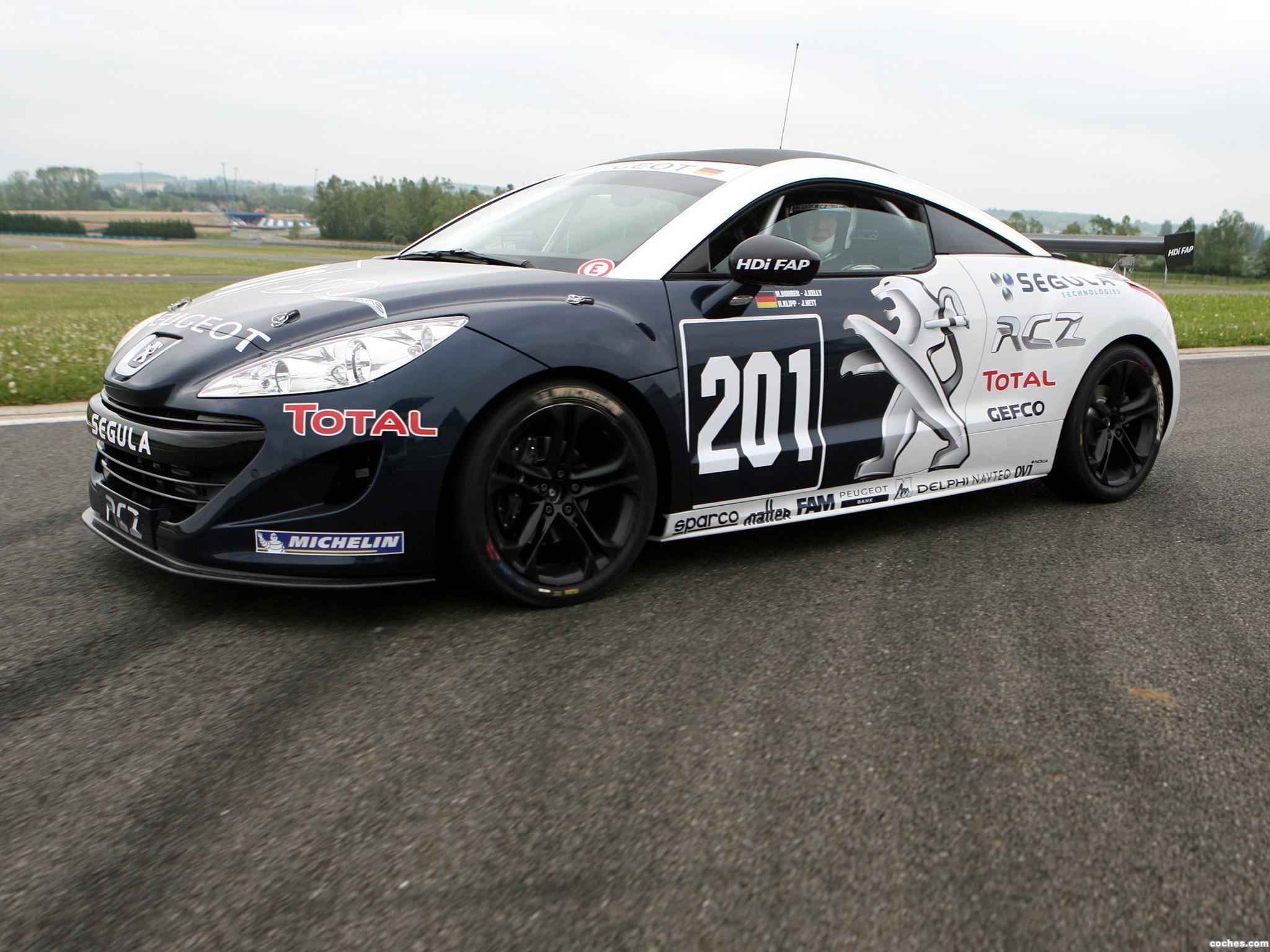 Foto 0 de Peugeot RCZ Race Car 200ANS 2010