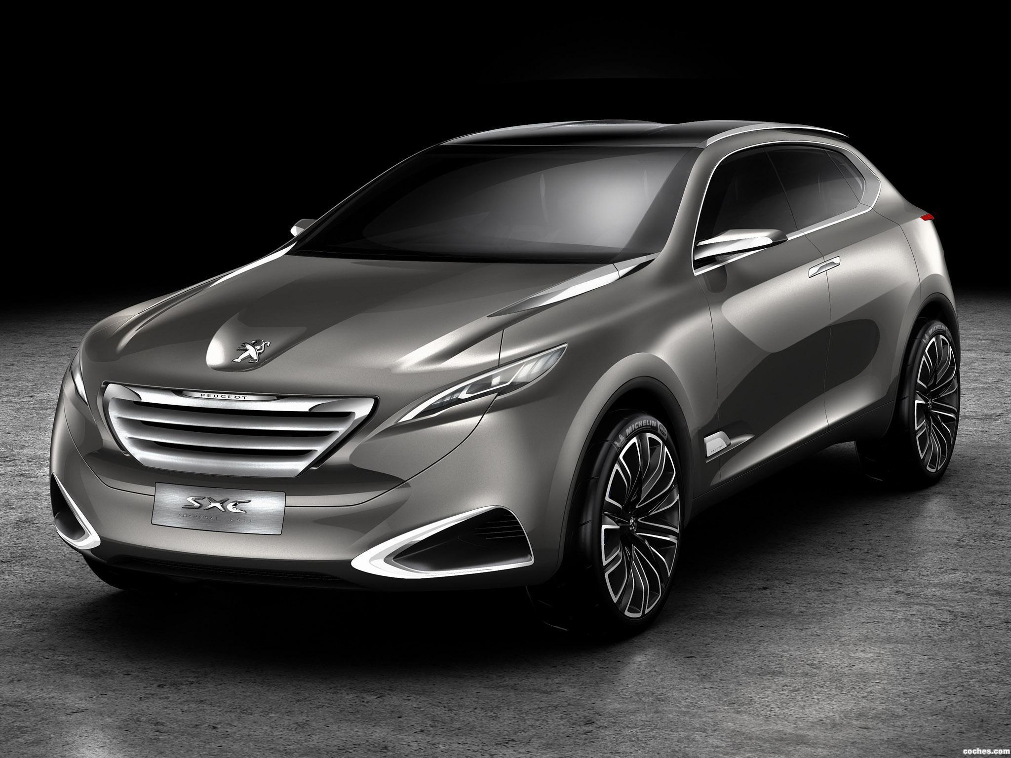 Foto 0 de Peugeot SXC Crossover Concept 2011