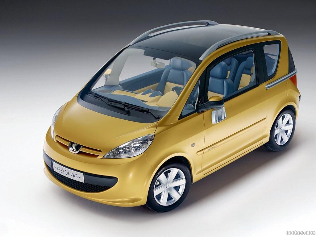 Foto 0 de Peugeot Sesame Concept 2002