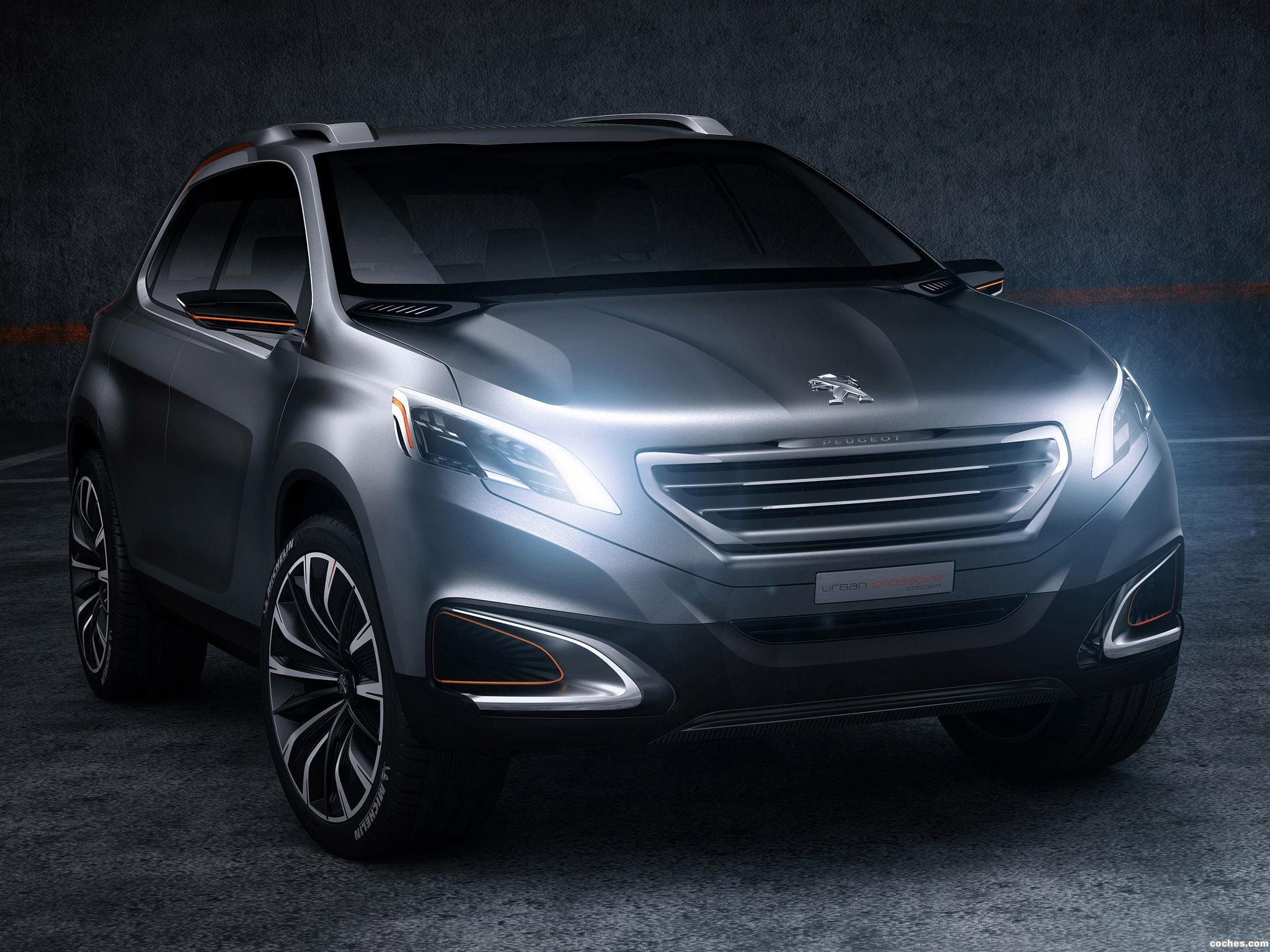 Foto 0 de Peugeot Urban Crossover Concept 2012