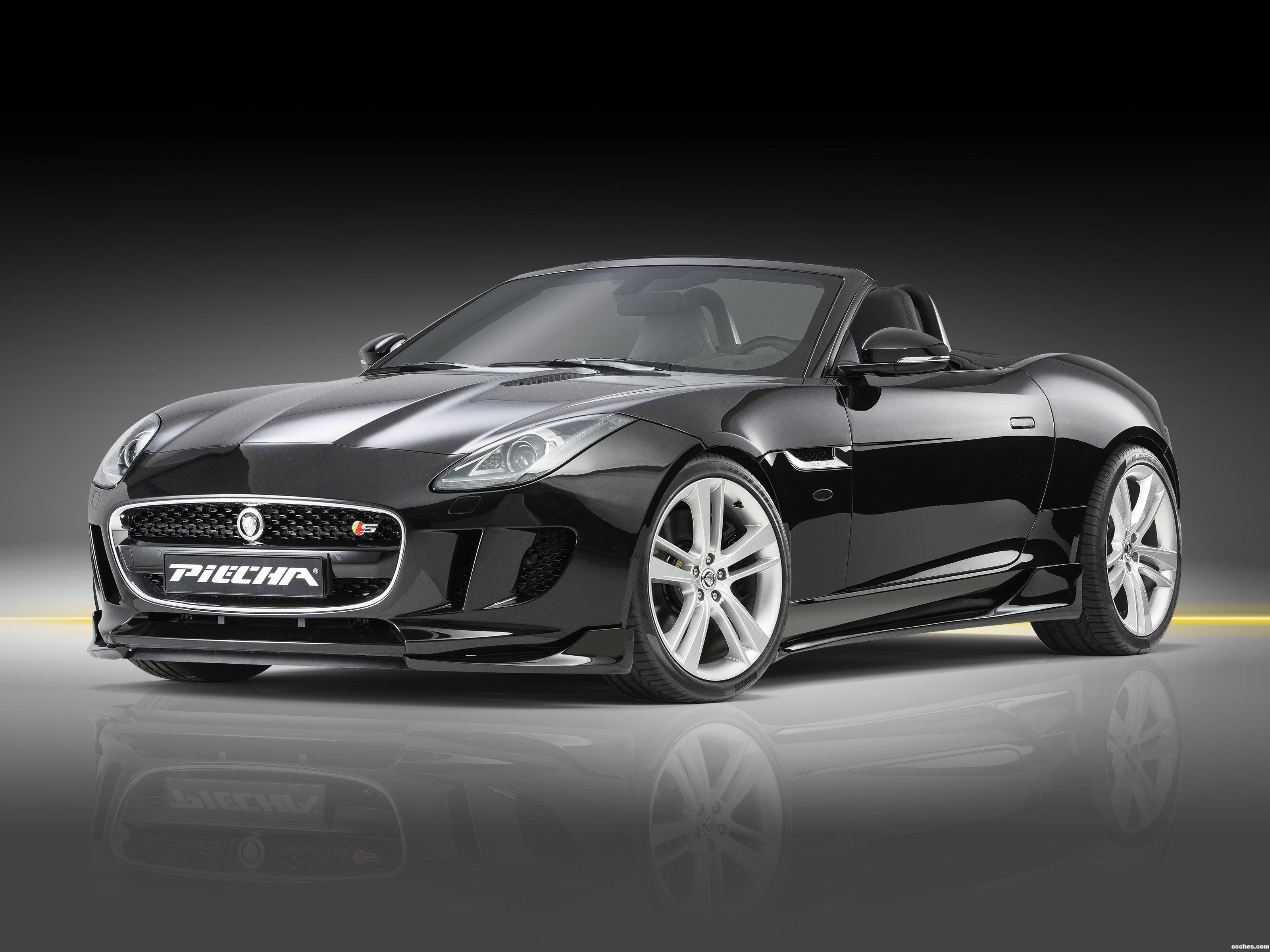 Foto 0 de Piecha-Design Jaguar F-Type V8 S Convertible 2016