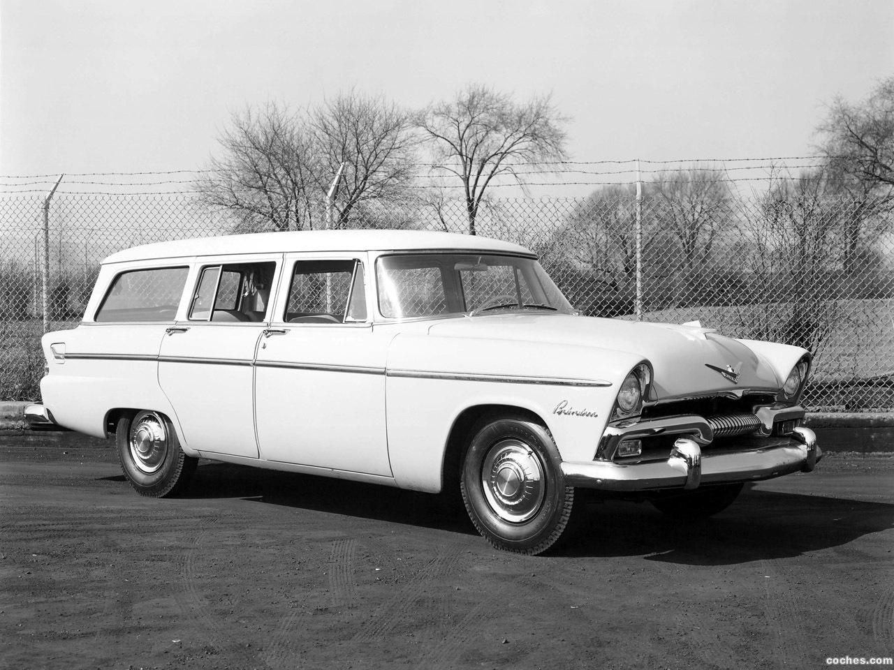 Foto 0 de Plymouth Belvedere Suburban Wagon 1955