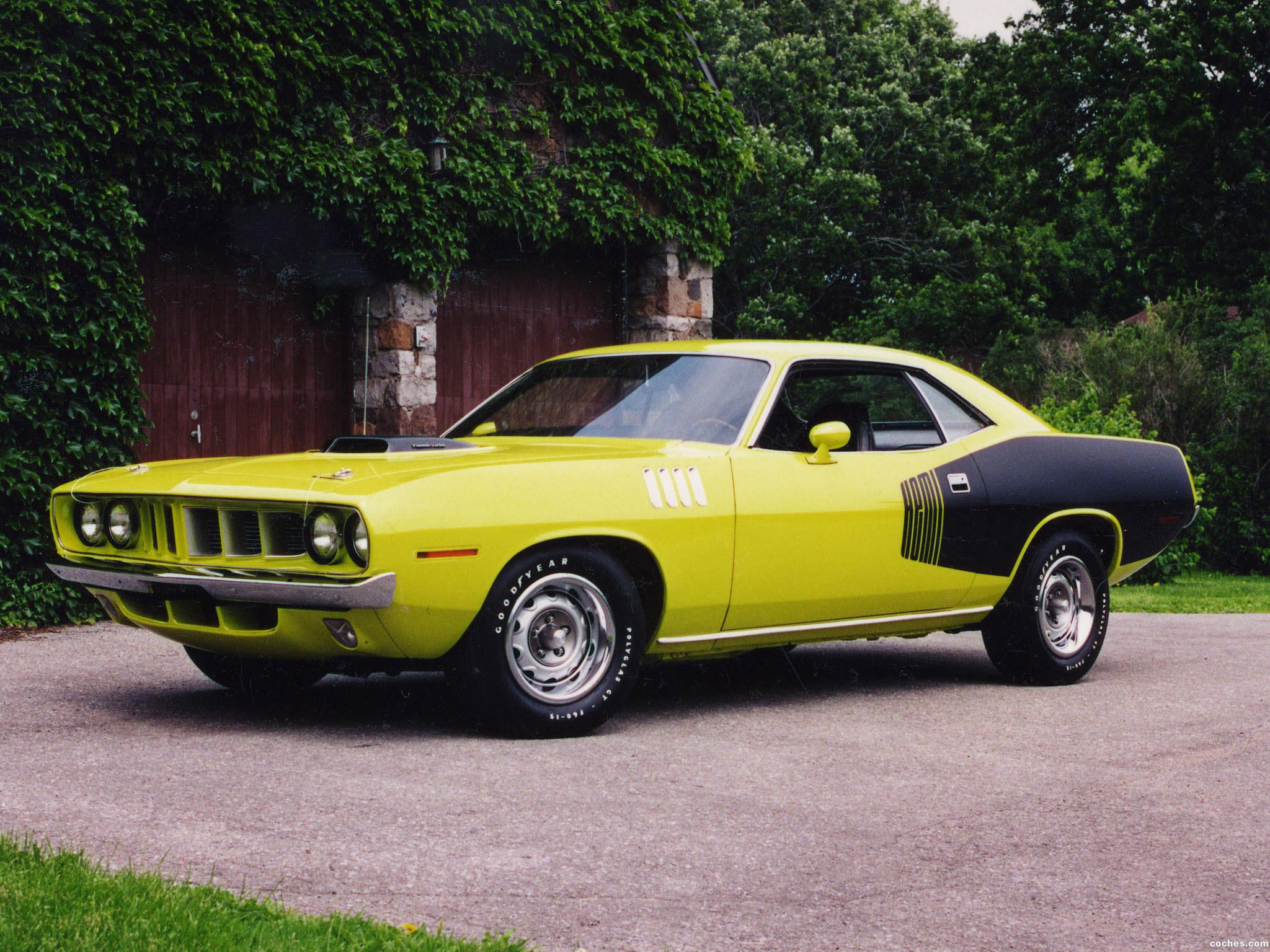 Foto 0 de Plymouth Cuda 1971