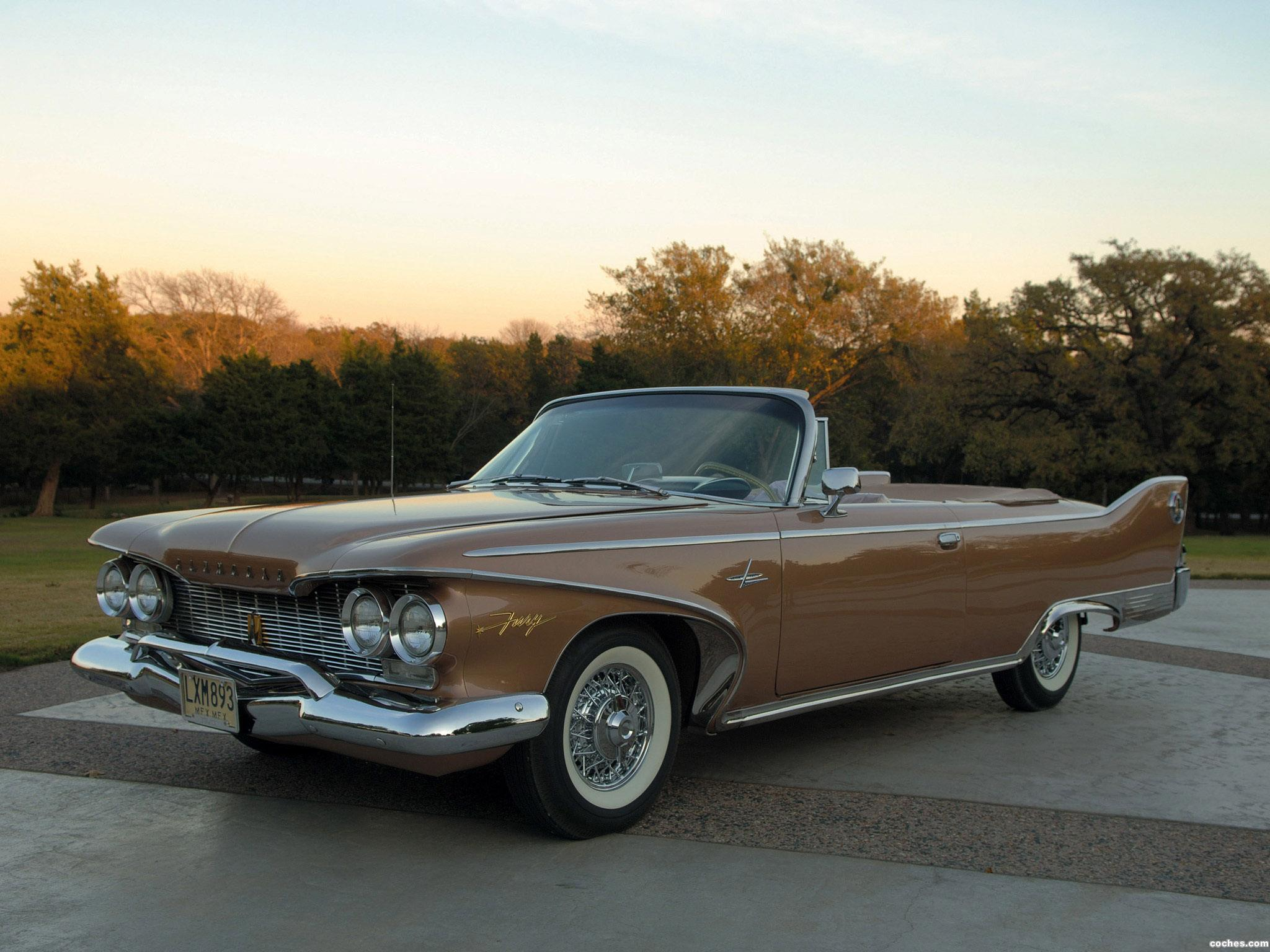 Foto 0 de Plymouth Fury Convertible 1960