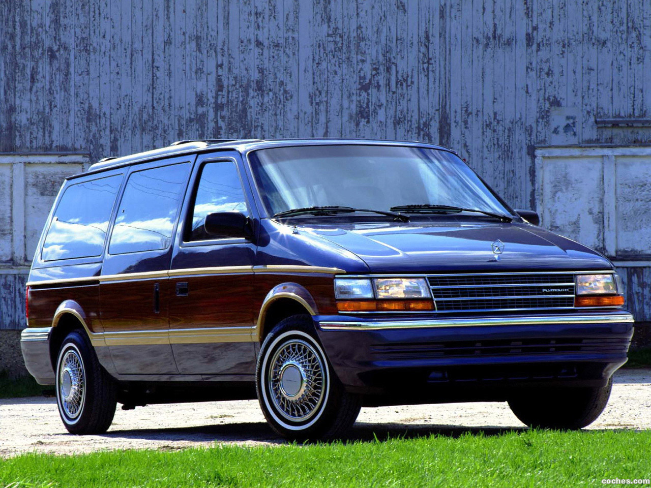 Foto 0 de Plymouth Grand Voyager 1991