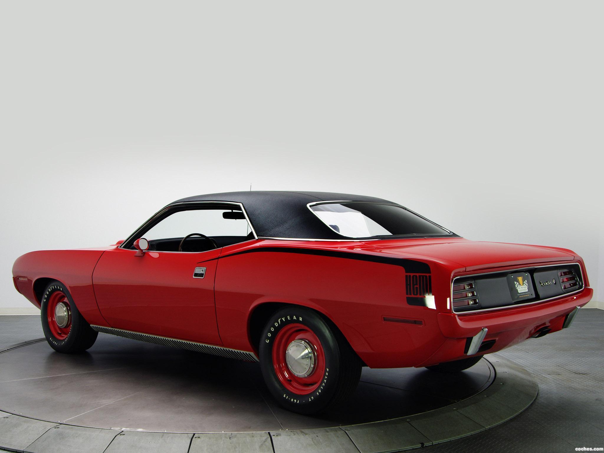 Foto 13 de Plymouth Hemi Cuda 1970