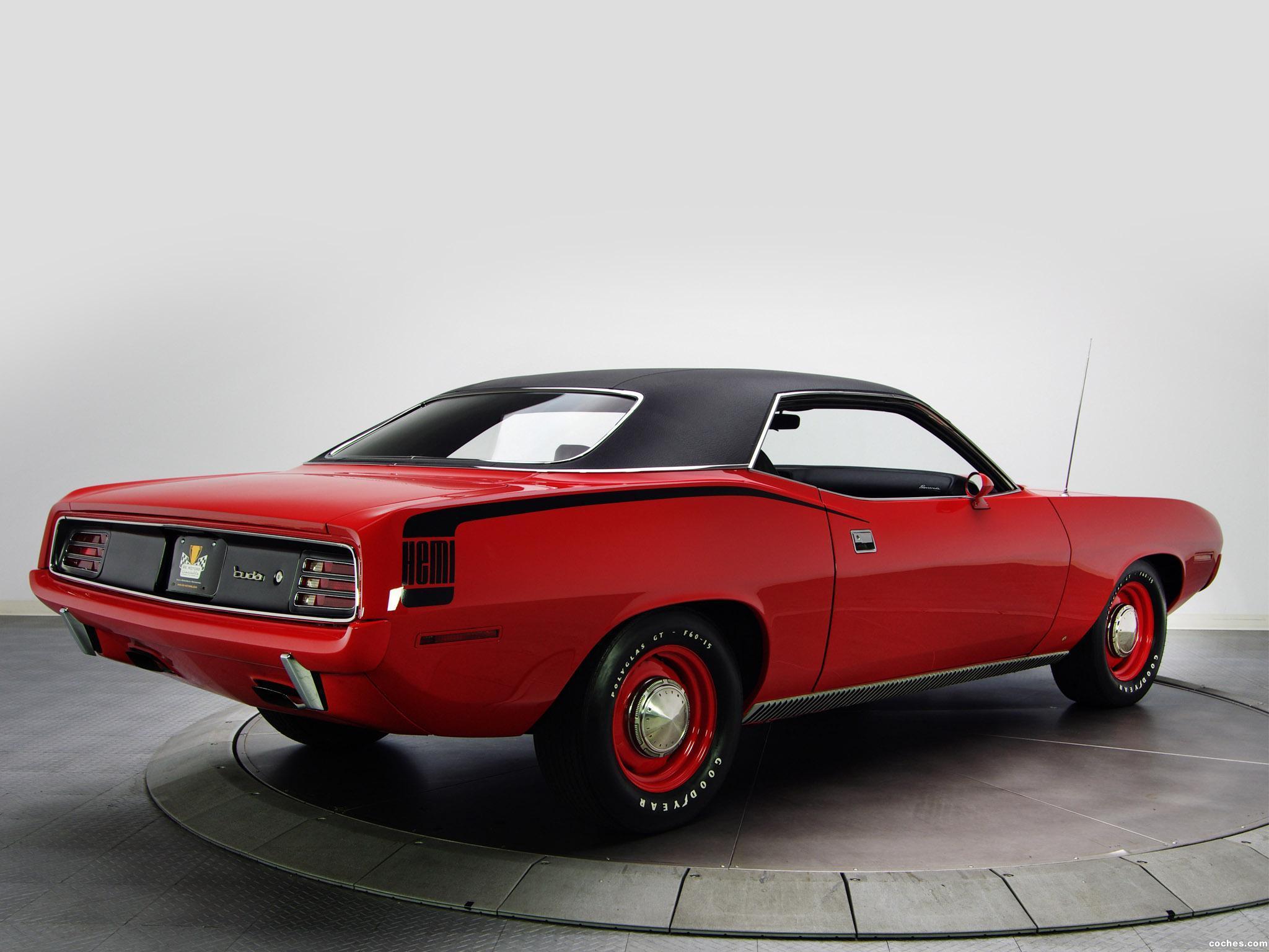 Foto 6 de Plymouth Hemi Cuda 1970