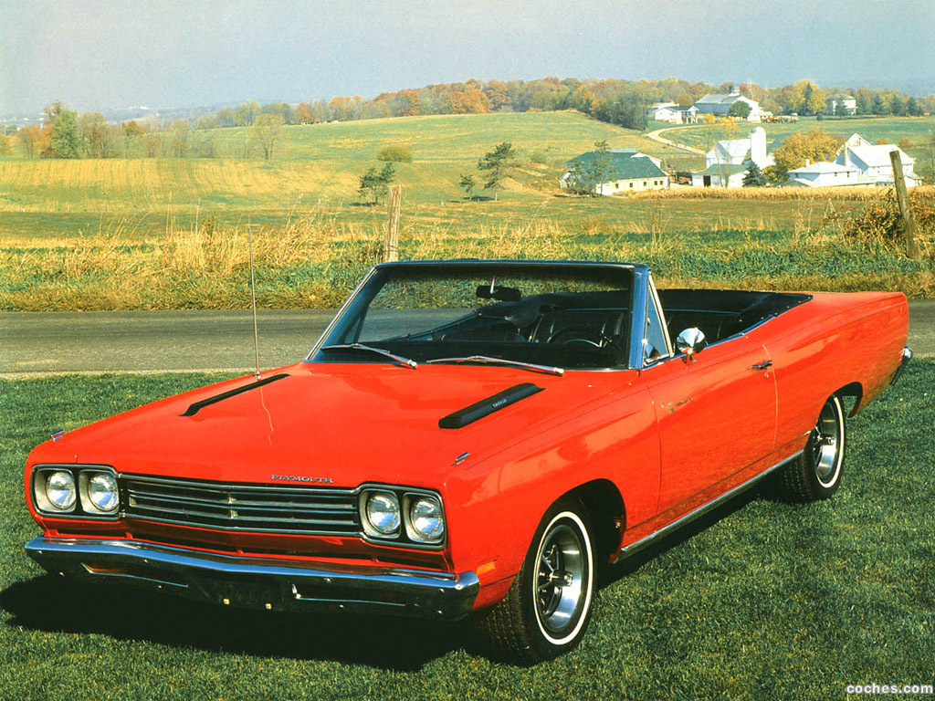 Foto 1 de Plymouth Road Runner Convertible 1969