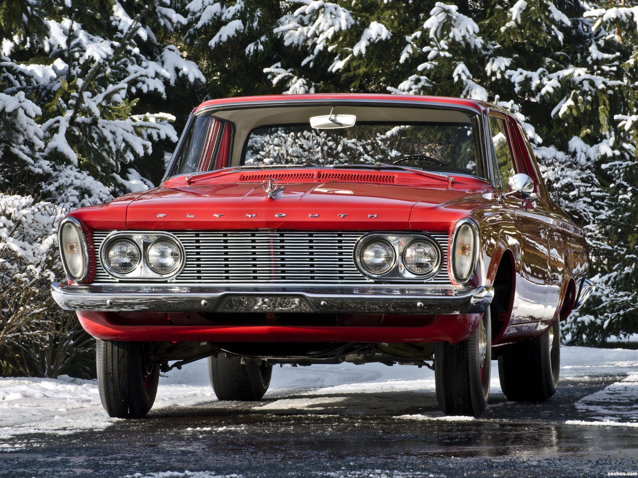 Foto 0 de Plymouth Savoy 2 door Sedan 1963