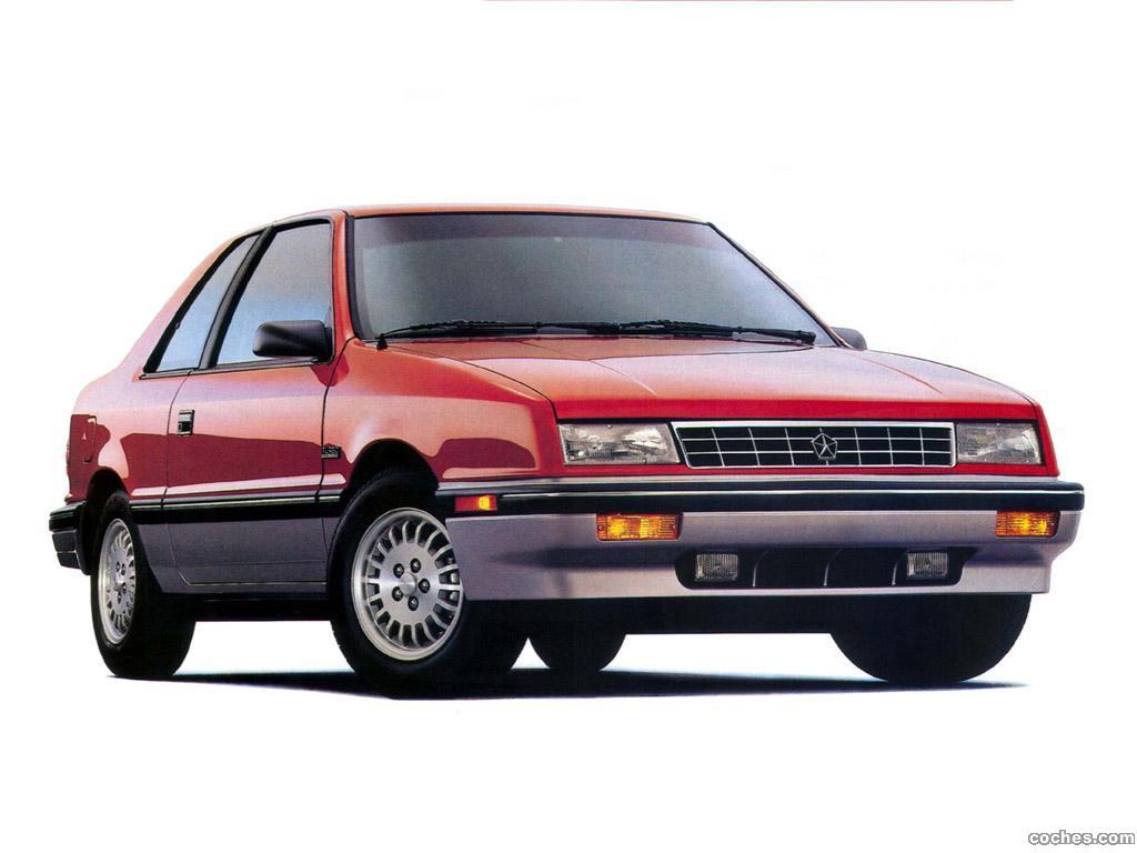 Foto 0 de Plymouth Sundance RS 1990