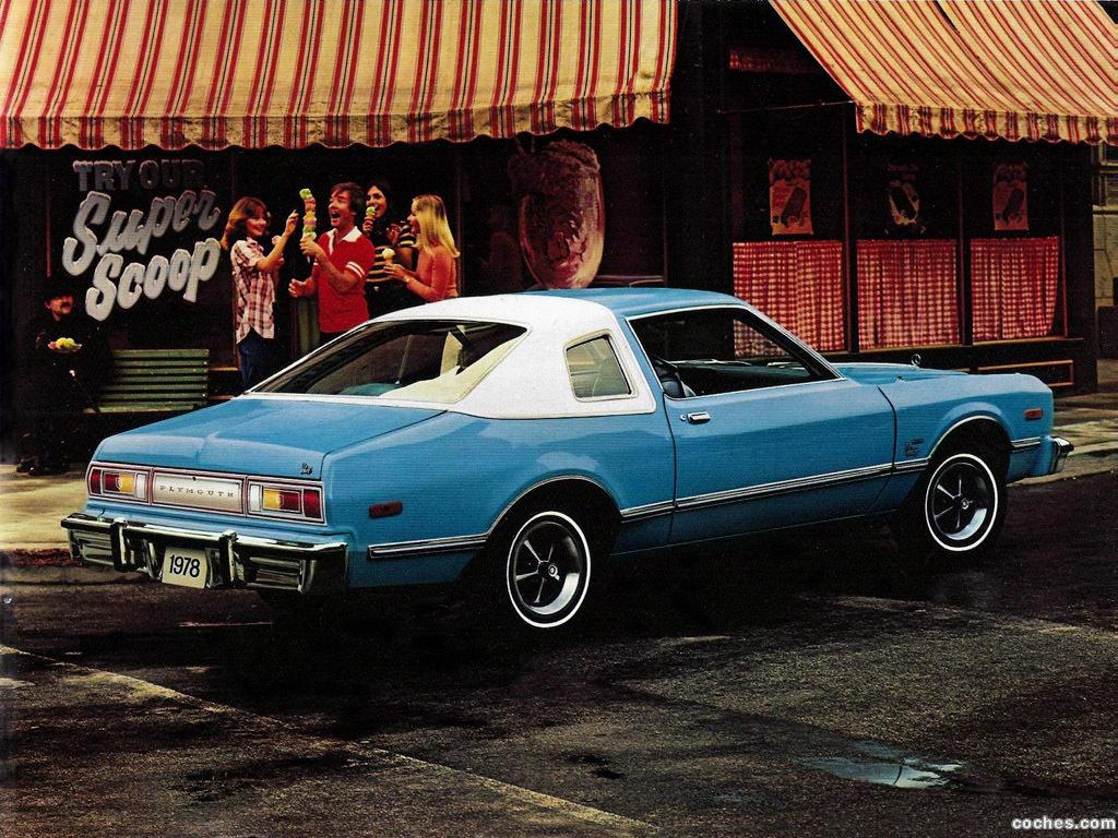 Foto 3 de Plymouth Volare Coupe 1978