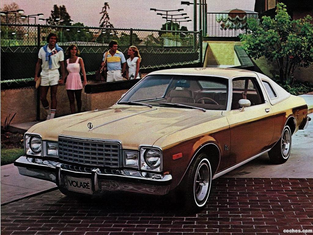 Foto 0 de Plymouth Volare Coupe 1978